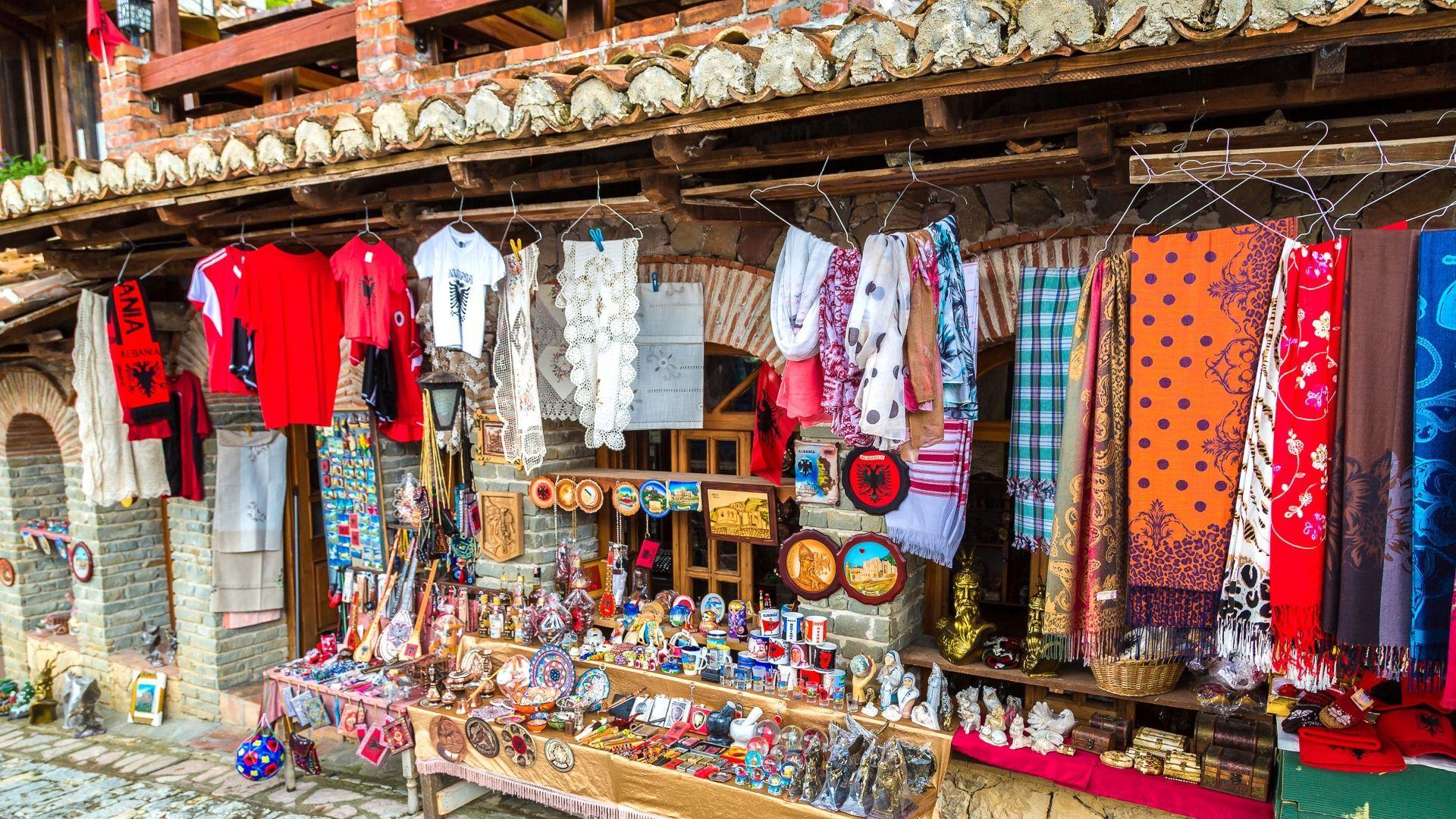 Krujos turgus Albanijoje
