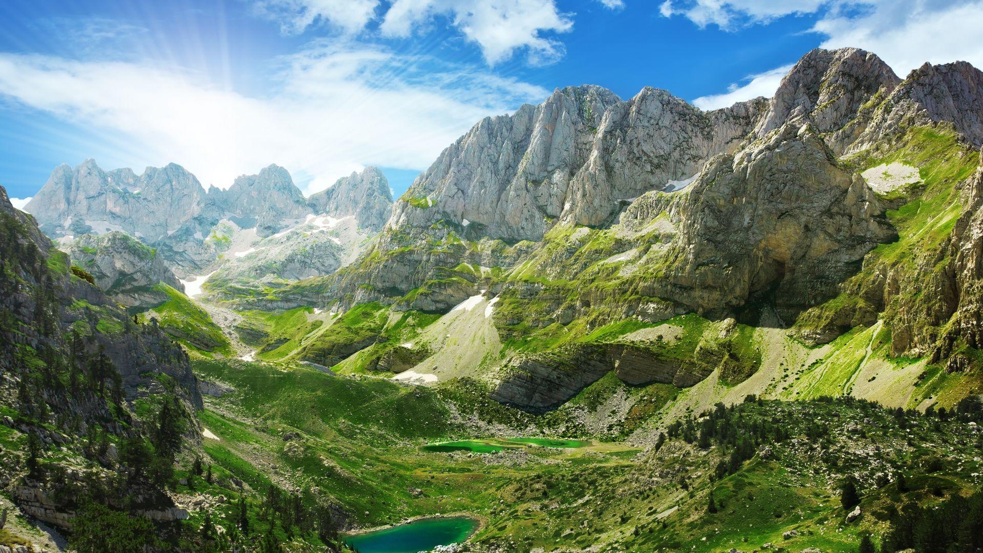 Albanijos Alpės