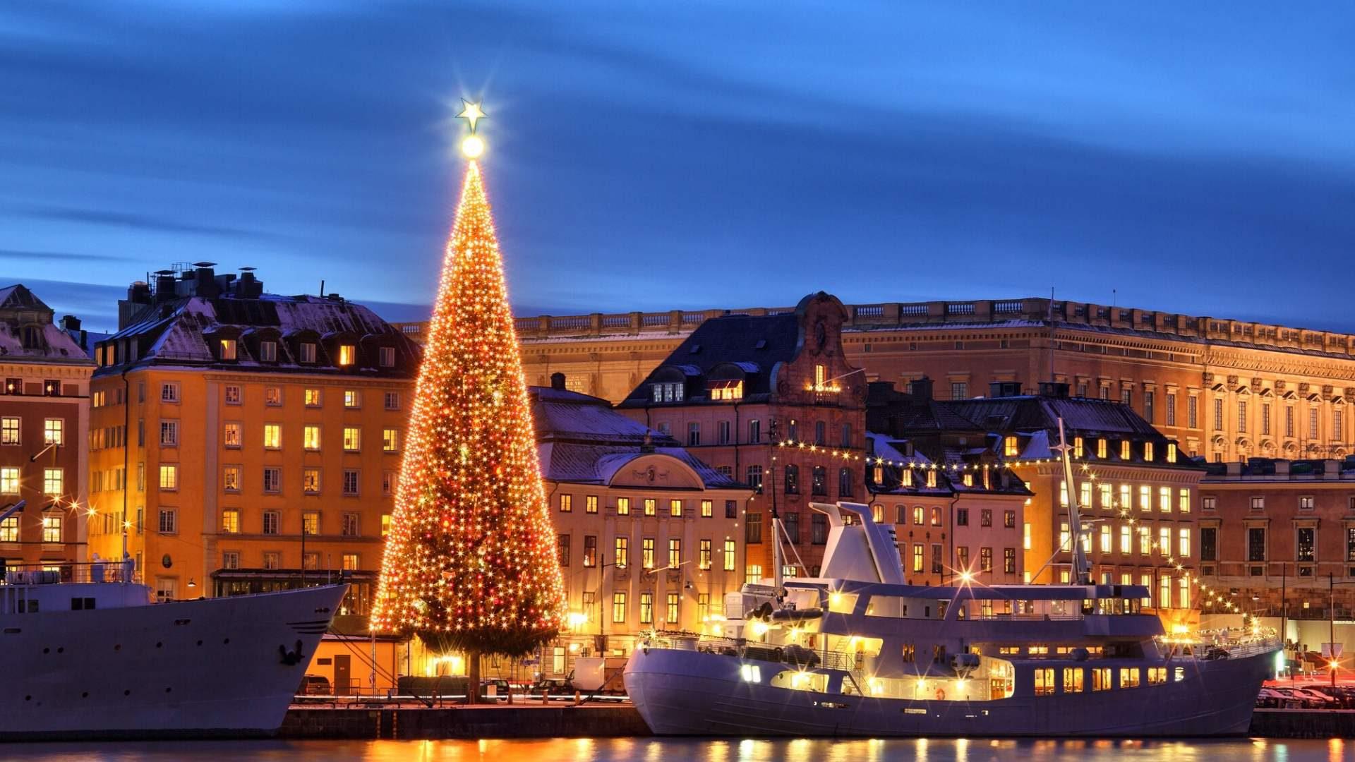 Aplankysite kalėdiškai pasipuošusį Stokholmą