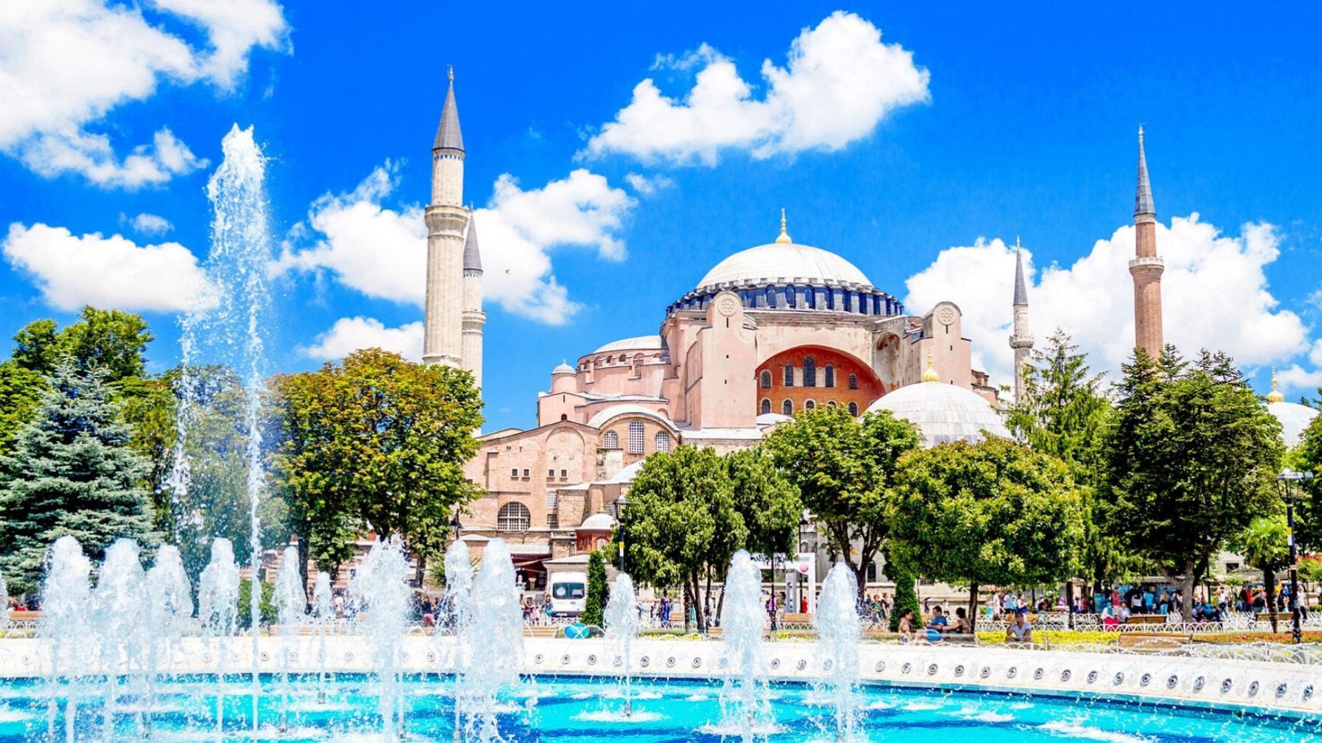 Aplankysite šv. Sofijos soborą Stambule