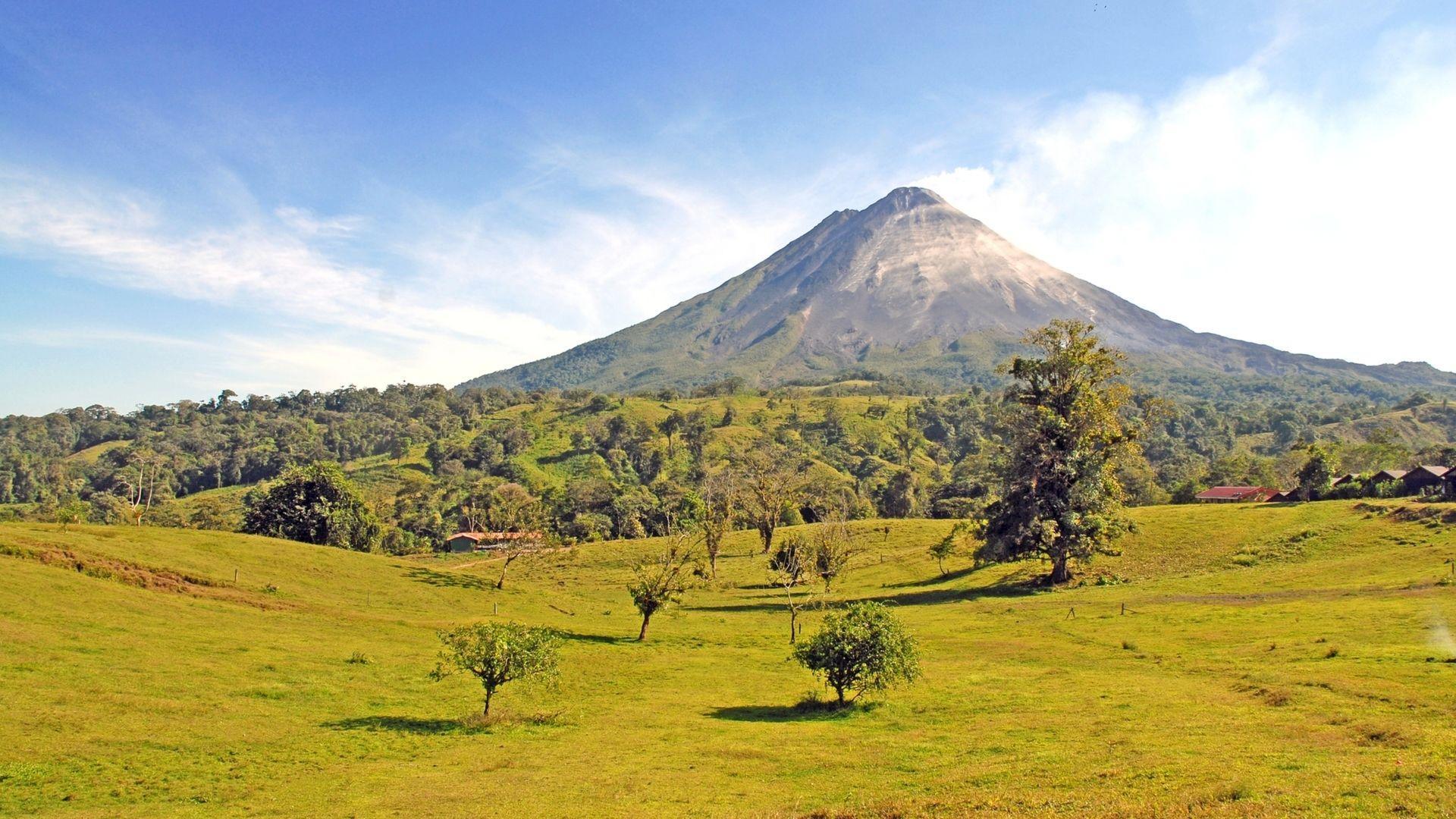 Arenalio ugnikalnis, Kosta Rika.