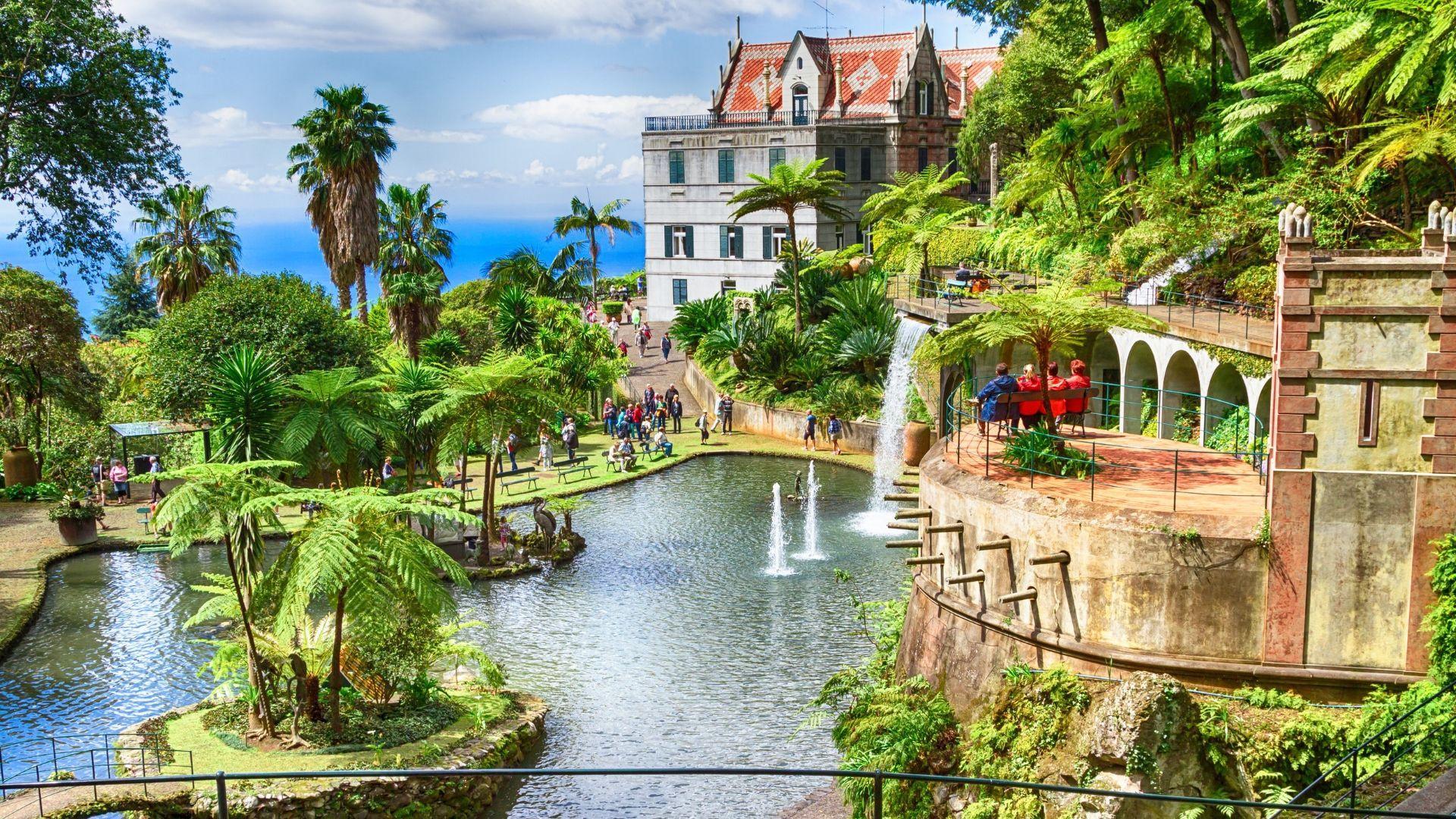 Atogrąžų augalų parkas Madeiroje