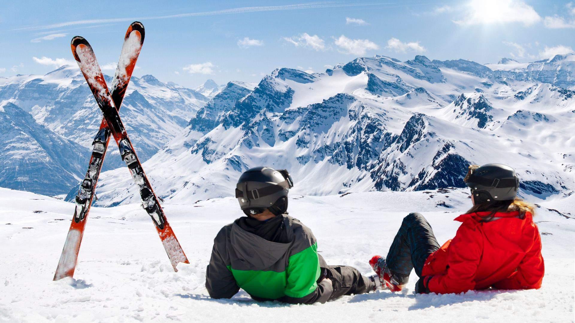Atokvėpio akimirkos slidinėjimo atostogų Italijoje metu
