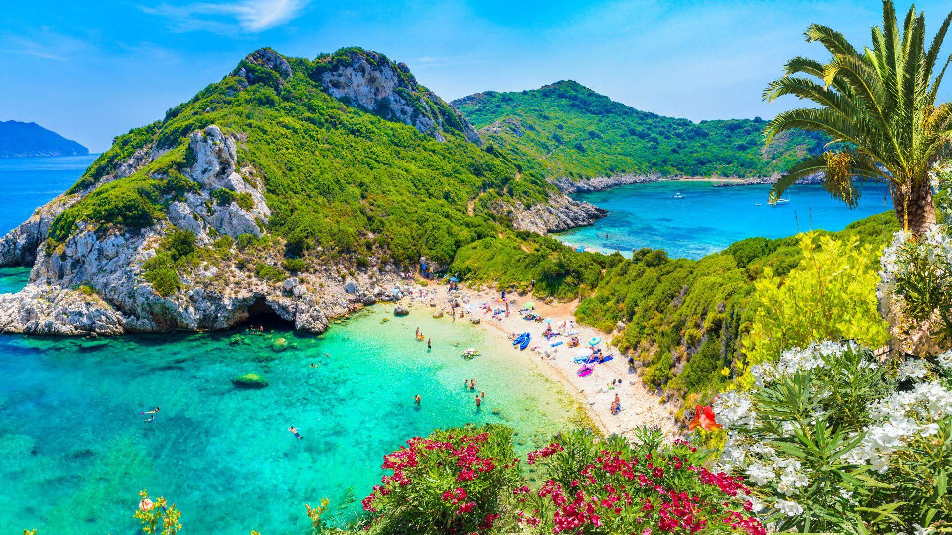 Atostogos Korfų saloje