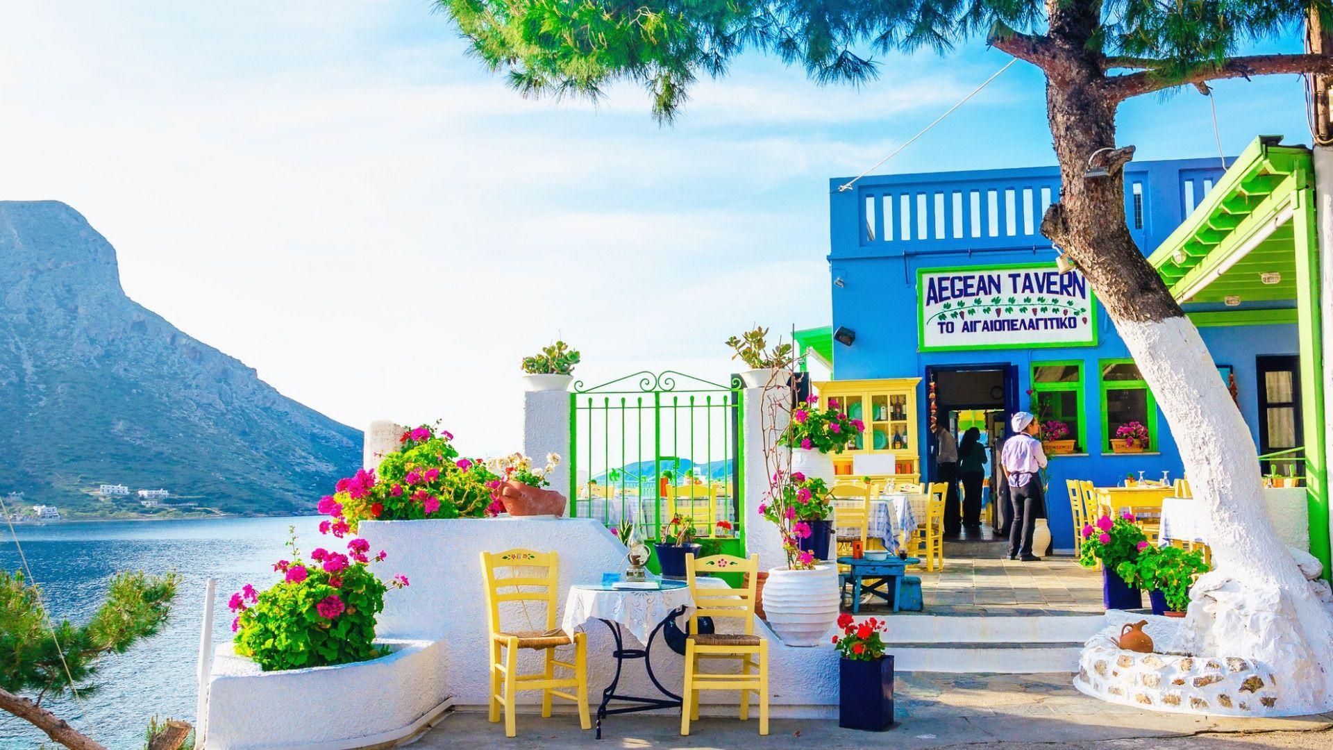 Autentiška parduotuvė Graikijos gilumoje