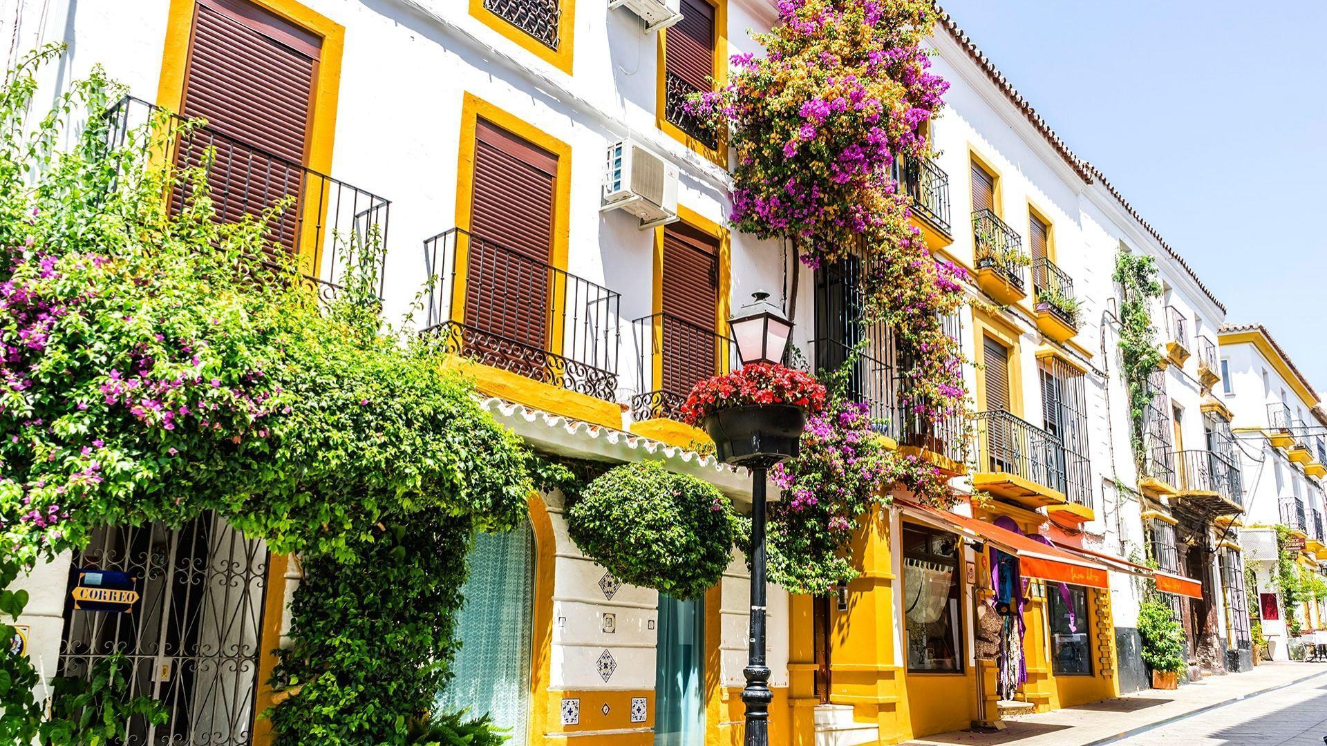 Autentiškos Andalūzijos gatvės
