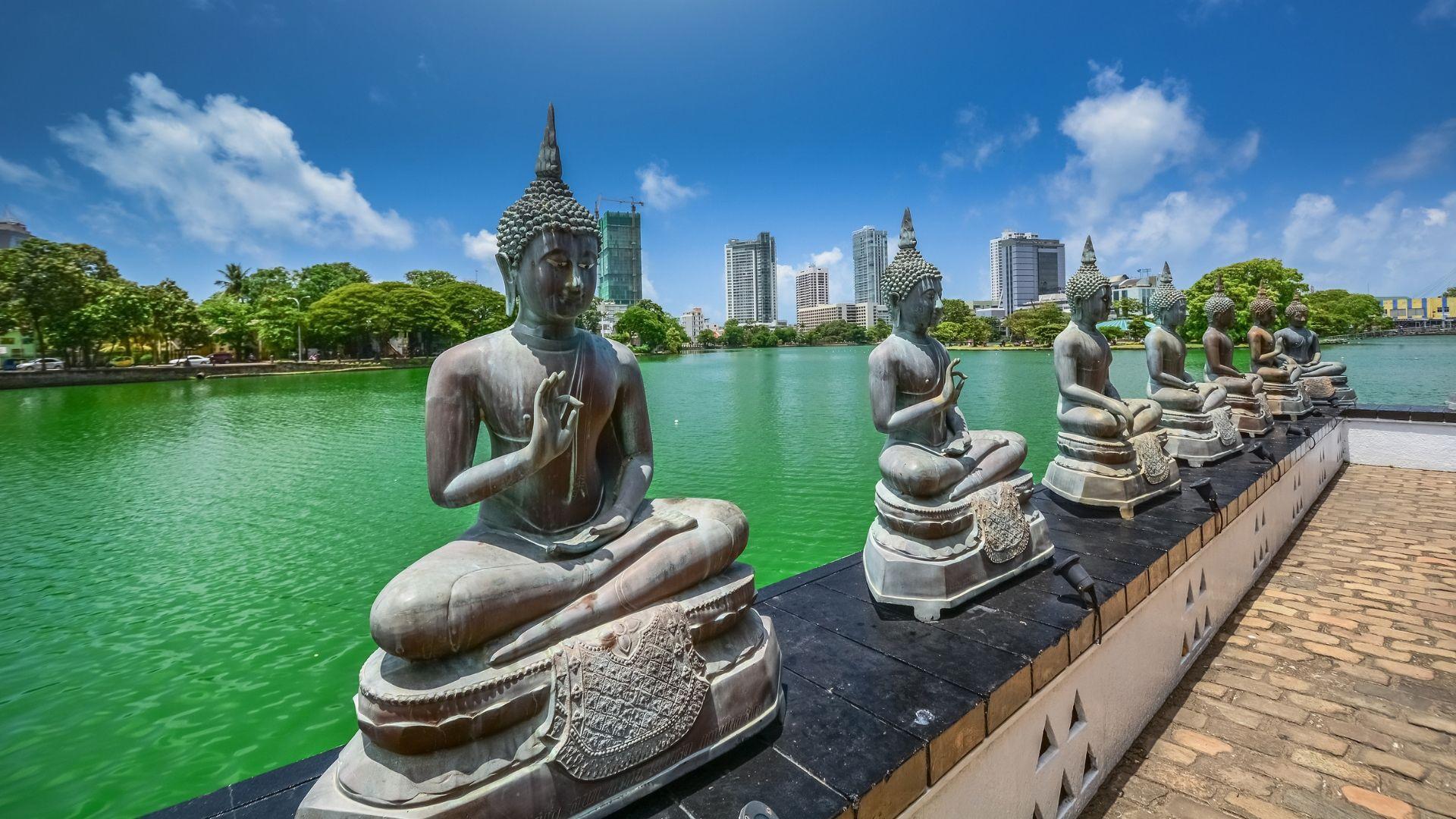 Budistų šventykla Kolombe