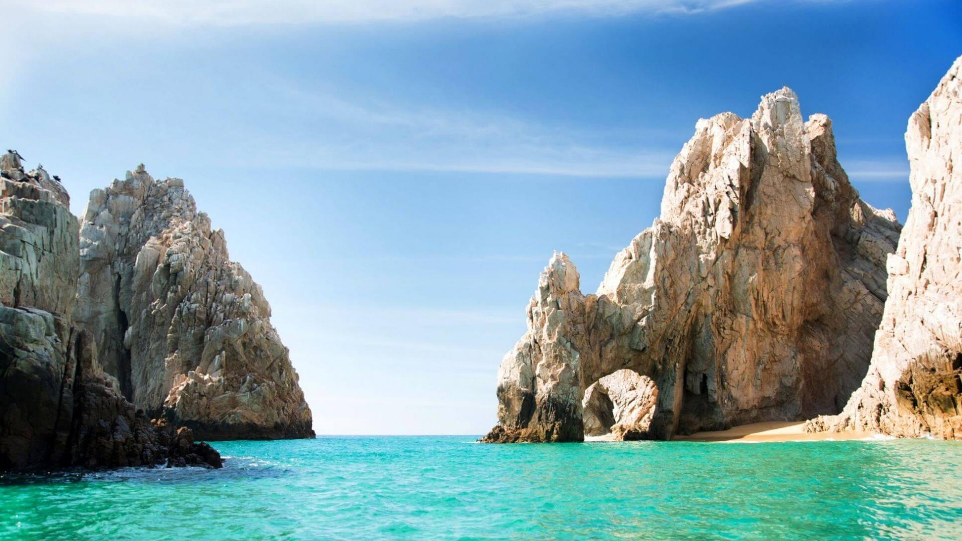 Cabo San Lucas paplūdimio grožiai