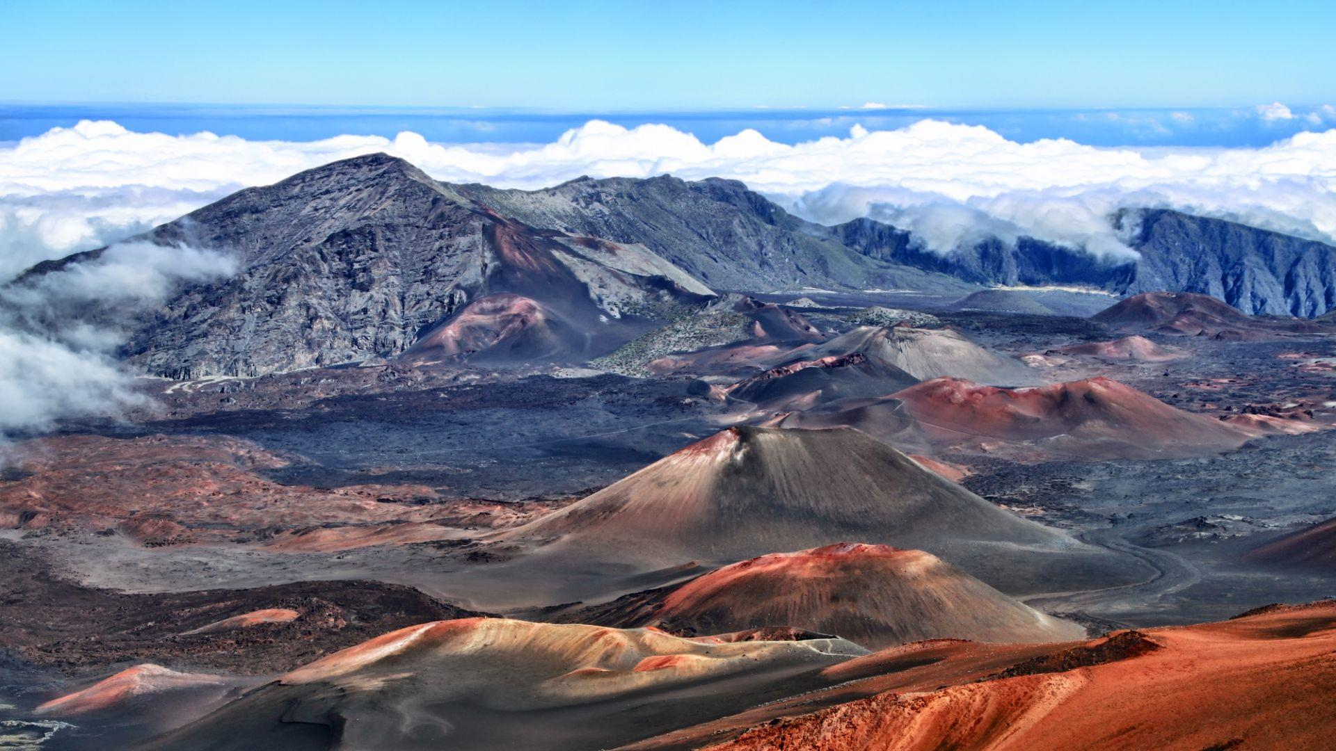 Halekala ugnikalnio krateris