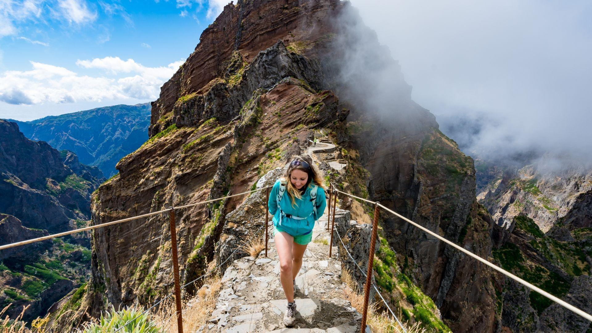 Kelionės į Madeirą metu leiskitės į žygį kalnuose