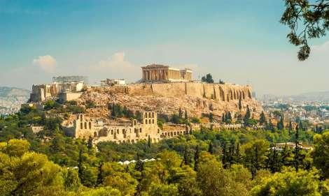 Atėnų akropolis, Graikiją