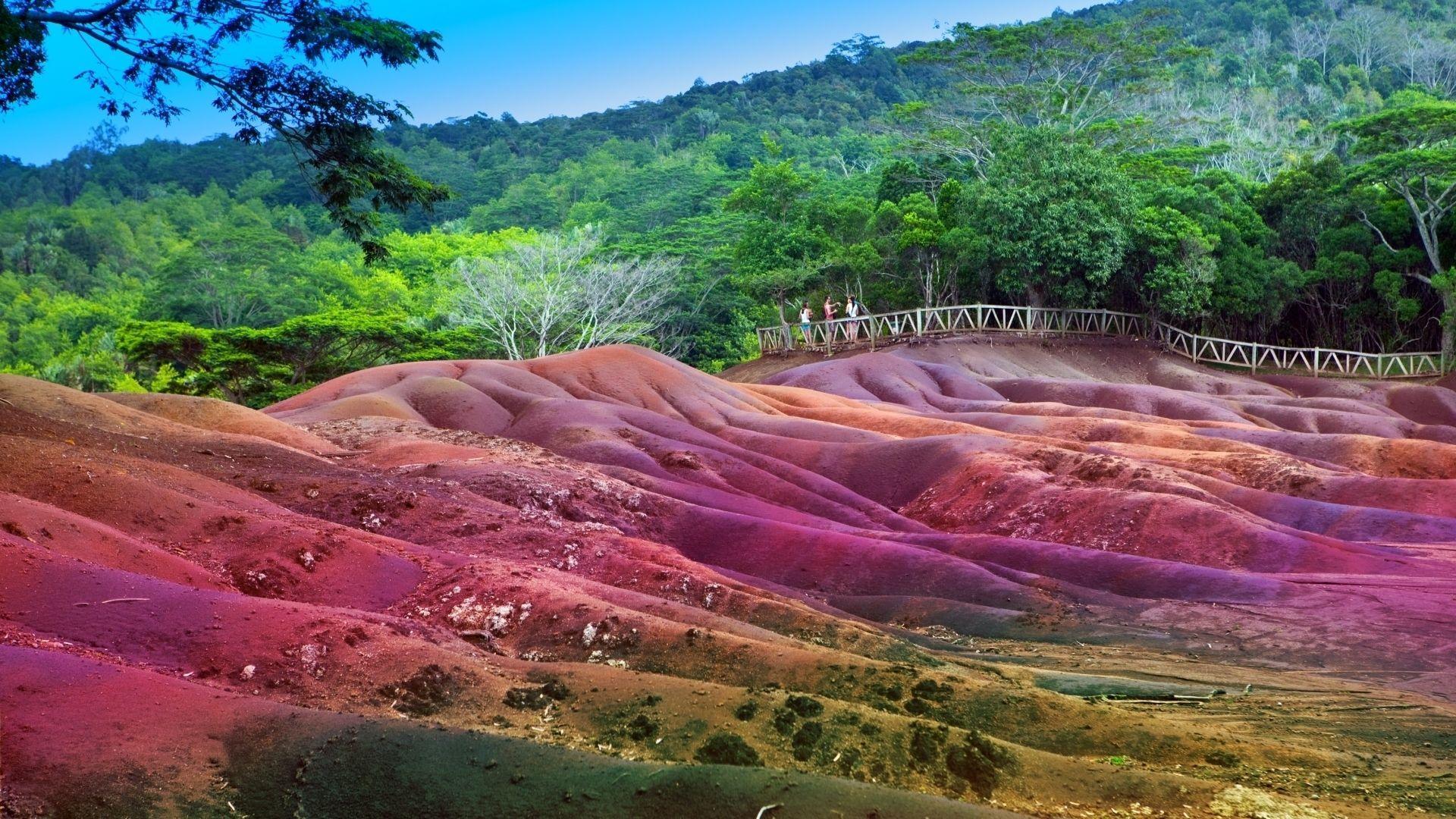 Spalvingoji Chamarelio žemė
