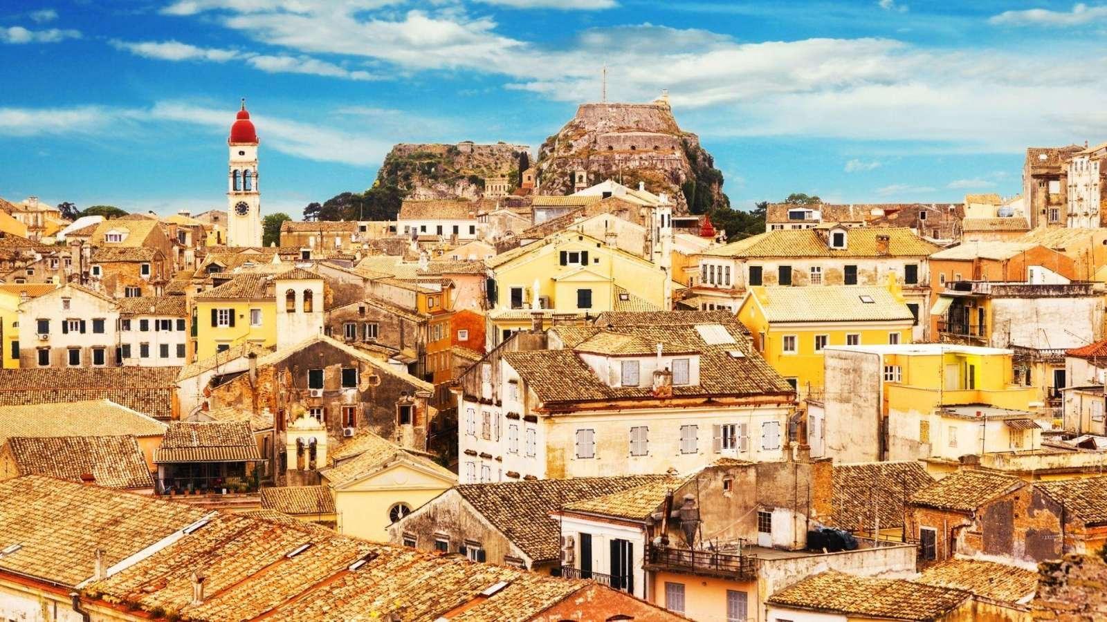Korfu kraštovaizdis