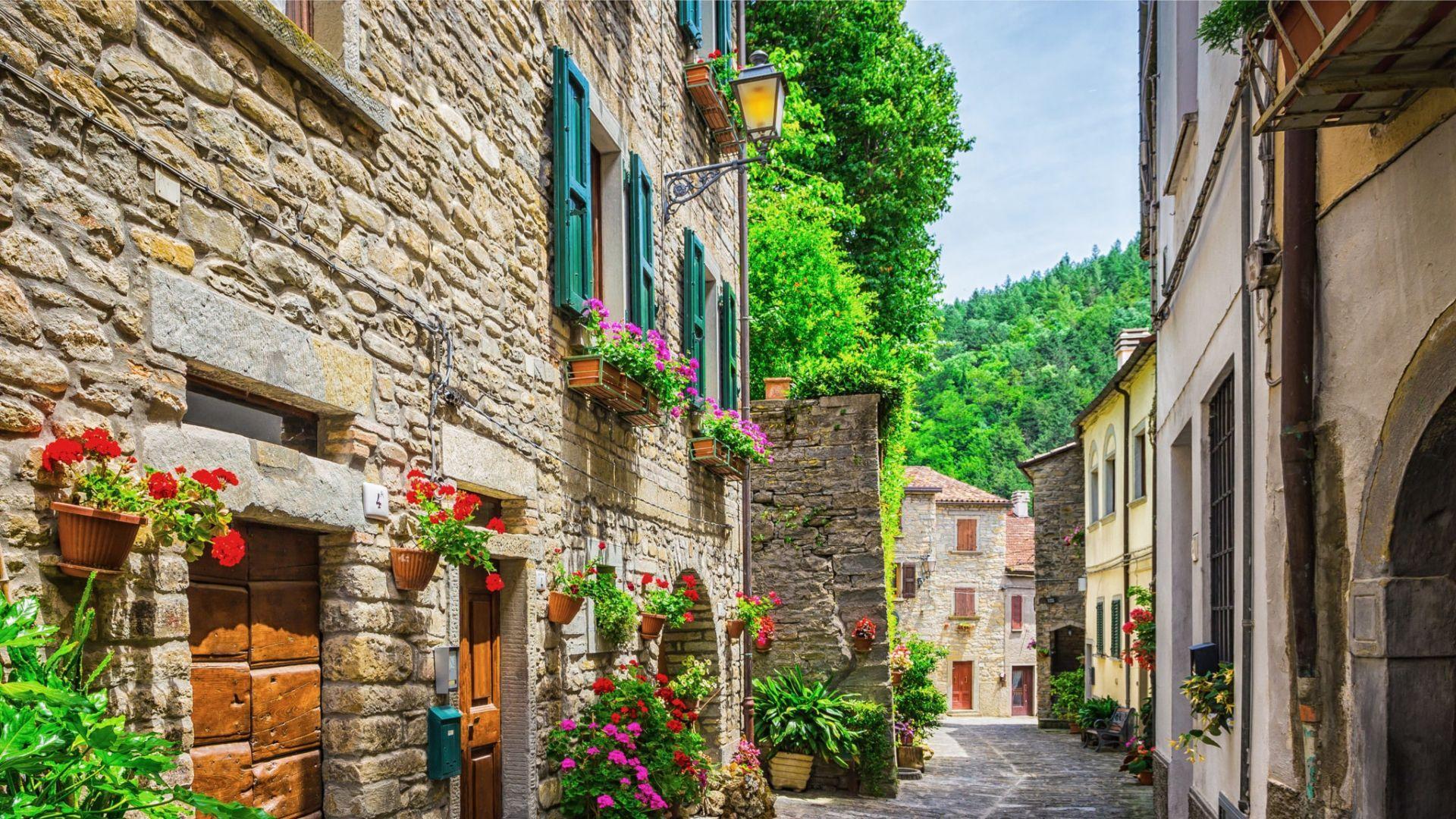 Jaukios Toskanos gatvelės