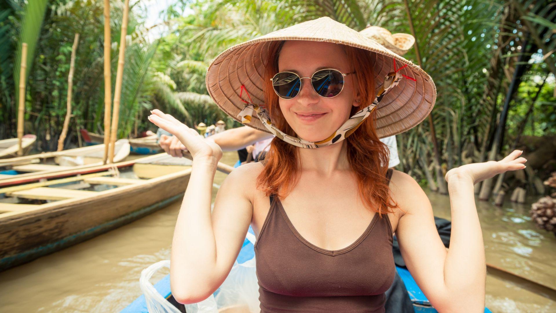Pasiplaukiojimas Mekong upės delta