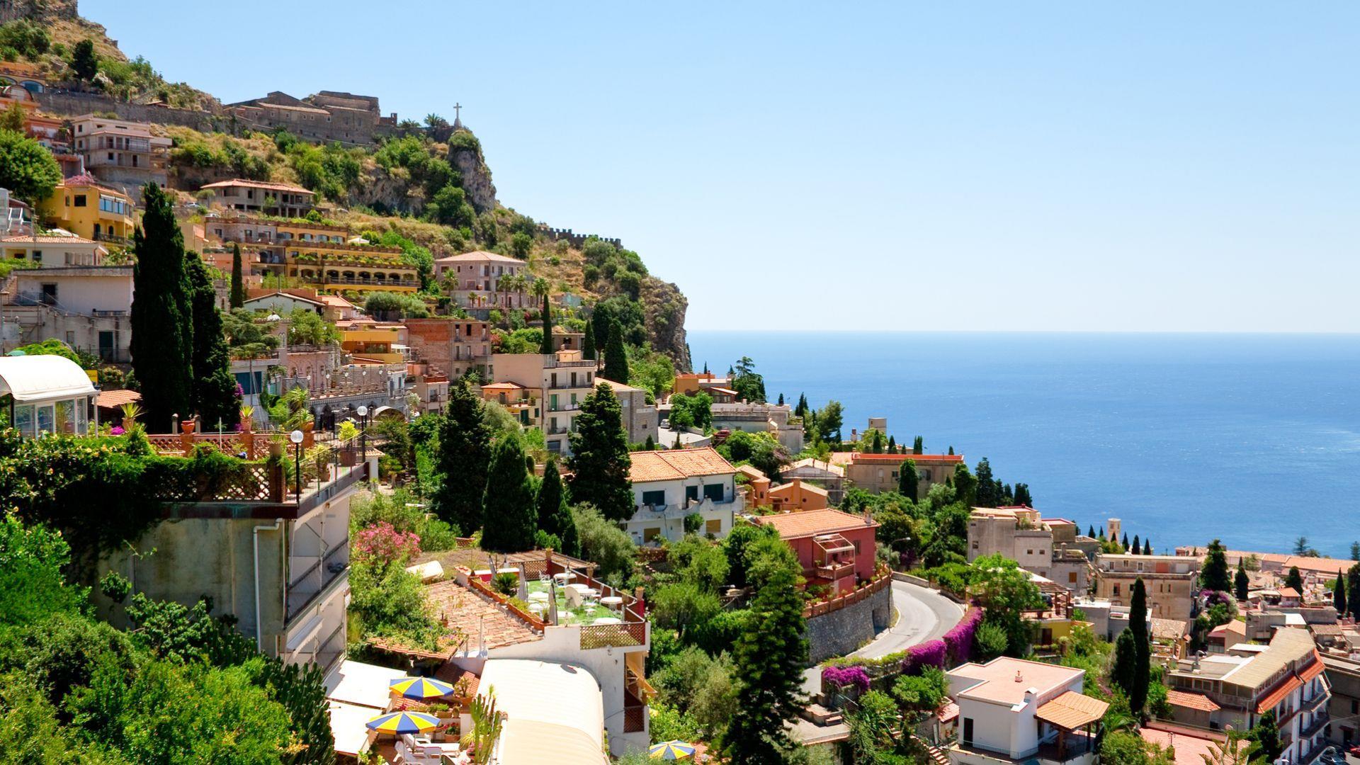 Sicilijos kurortinis miestelis - Taormina