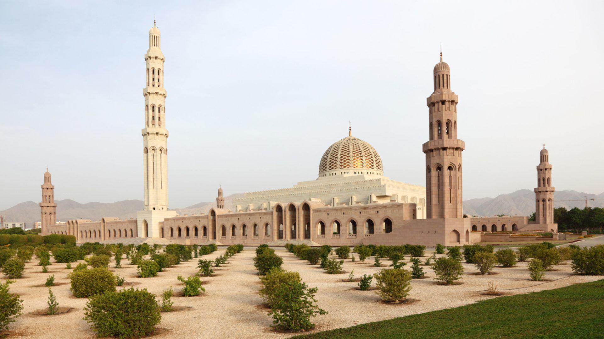 Sultono Qaboos mečetė Muskate
