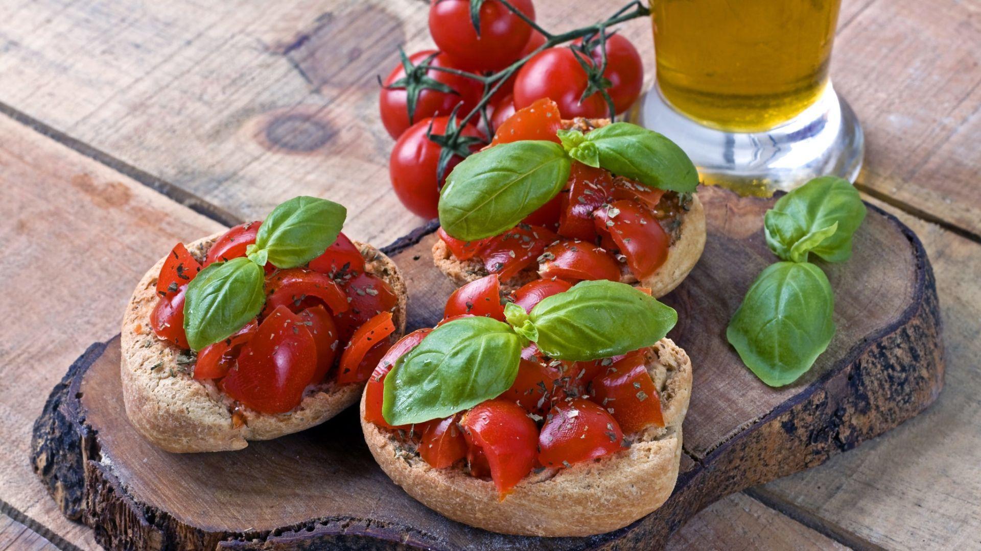 """Tradicinis itališkas užkandis – """"brusketa"""""""