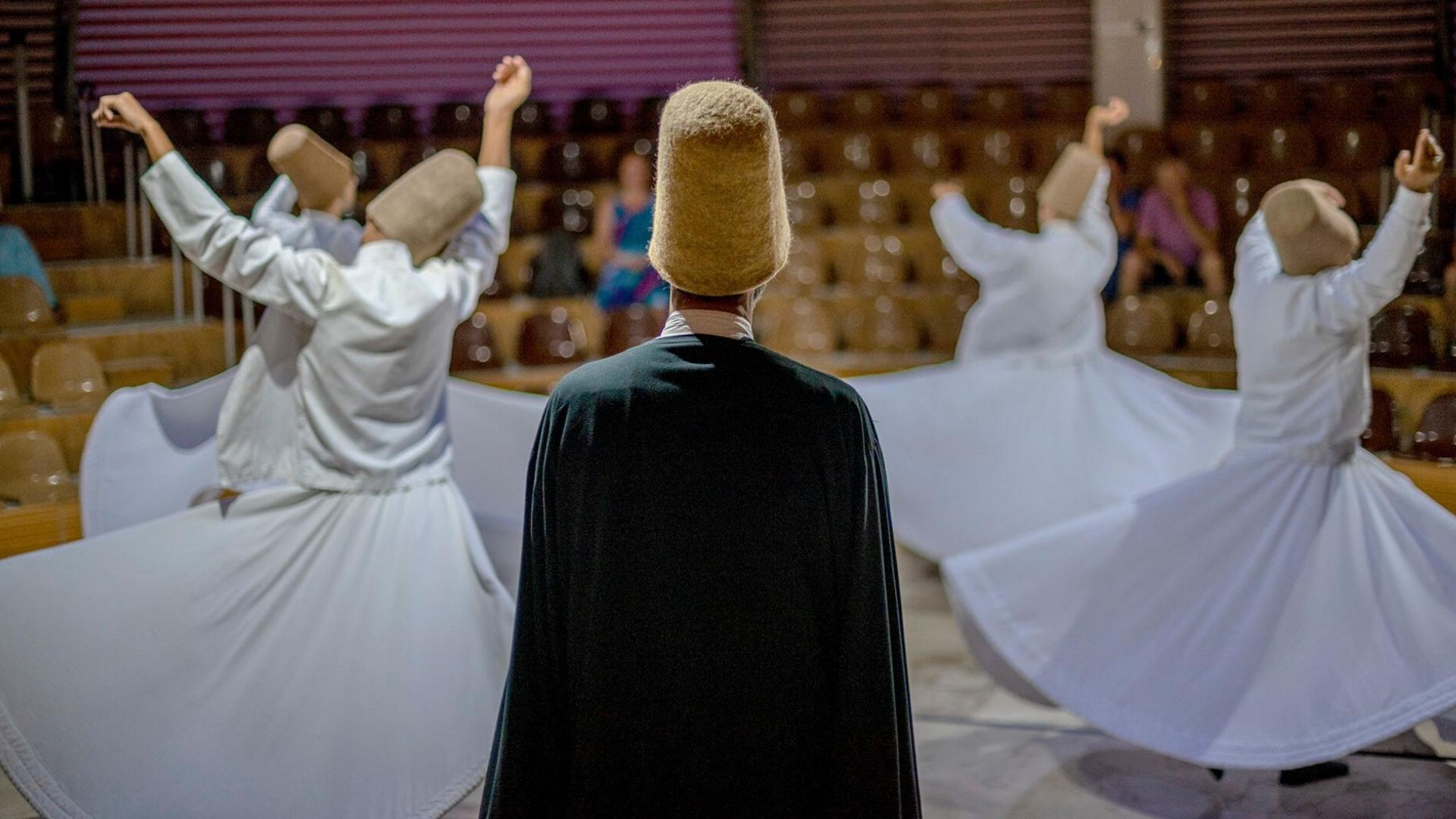 Dervišų šokiai - turkų kultūros ir maldos išraiška