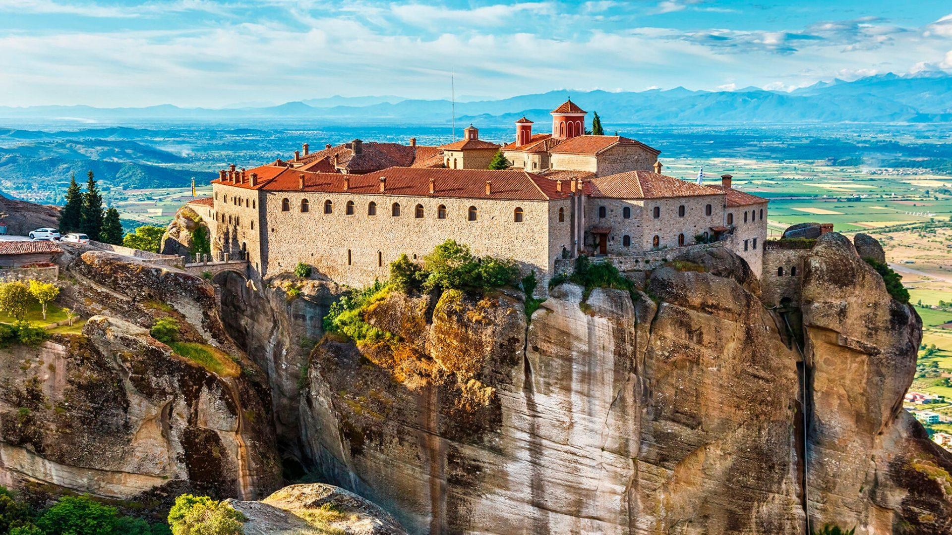 Didybe dvelkiantis Meteorų vienuolynų kompleksas