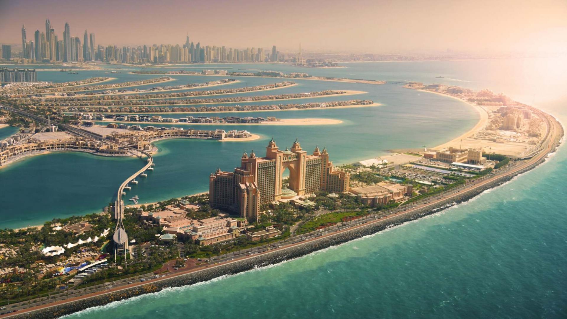 Dirbtinės Palmių salos Dubajuje