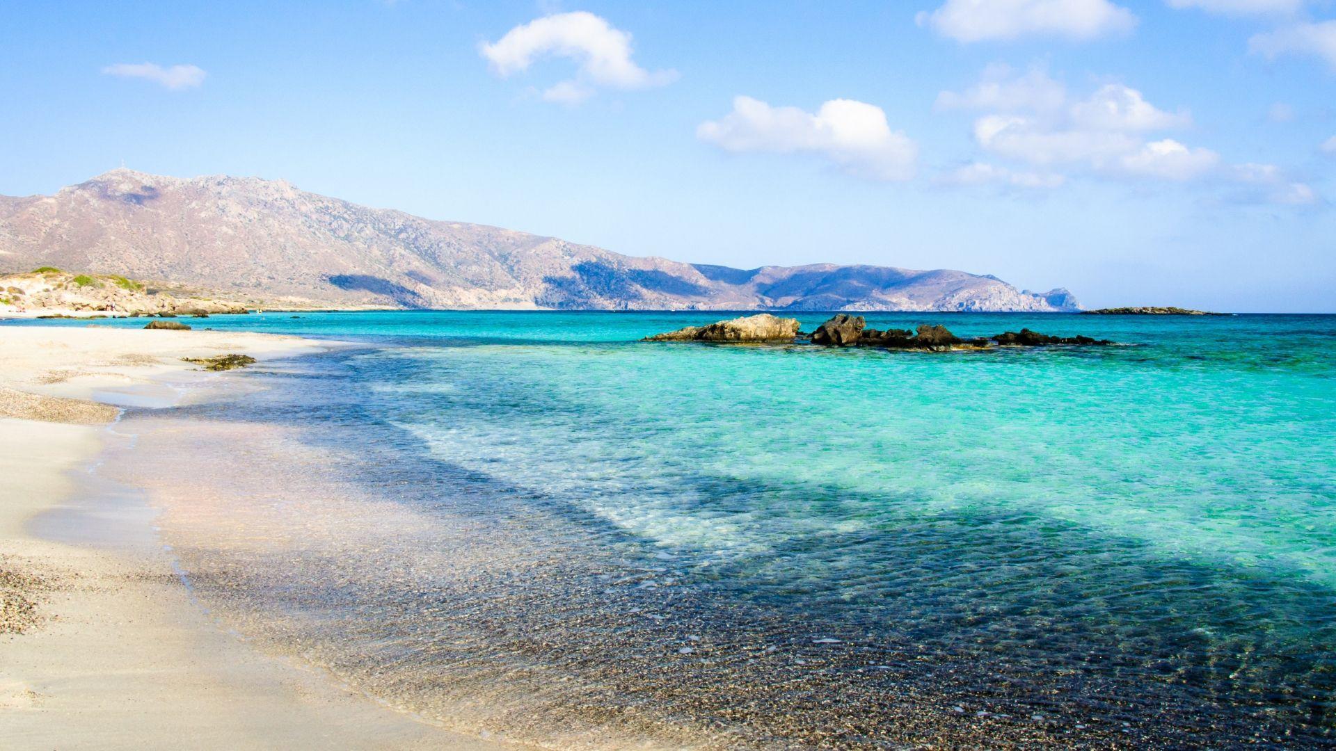 Elafonisi paplūdimys