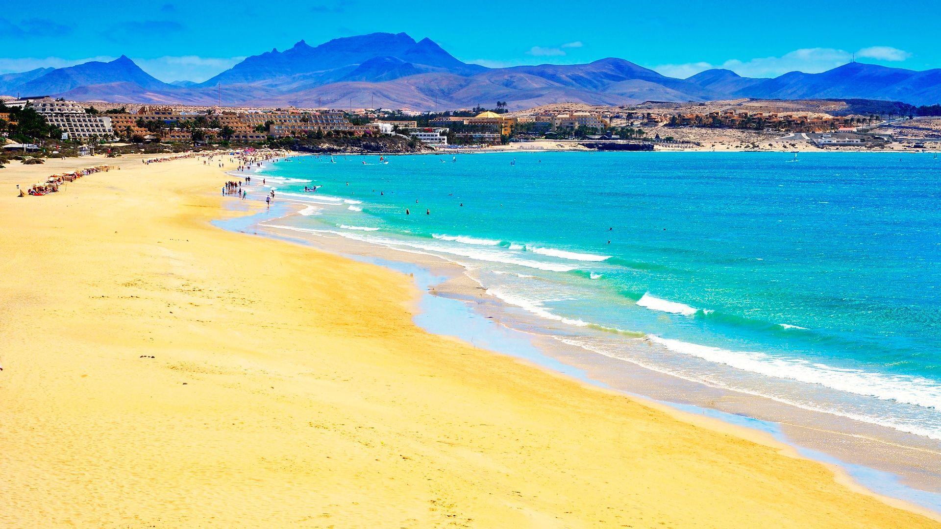 Esmeraldos paplūdimys, Fuerteventūra