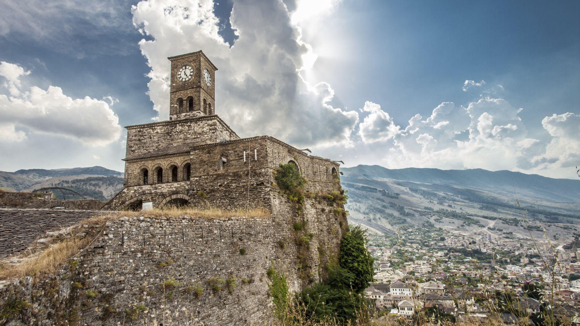 Girokasteris, akmeninis miestas Albanijoje