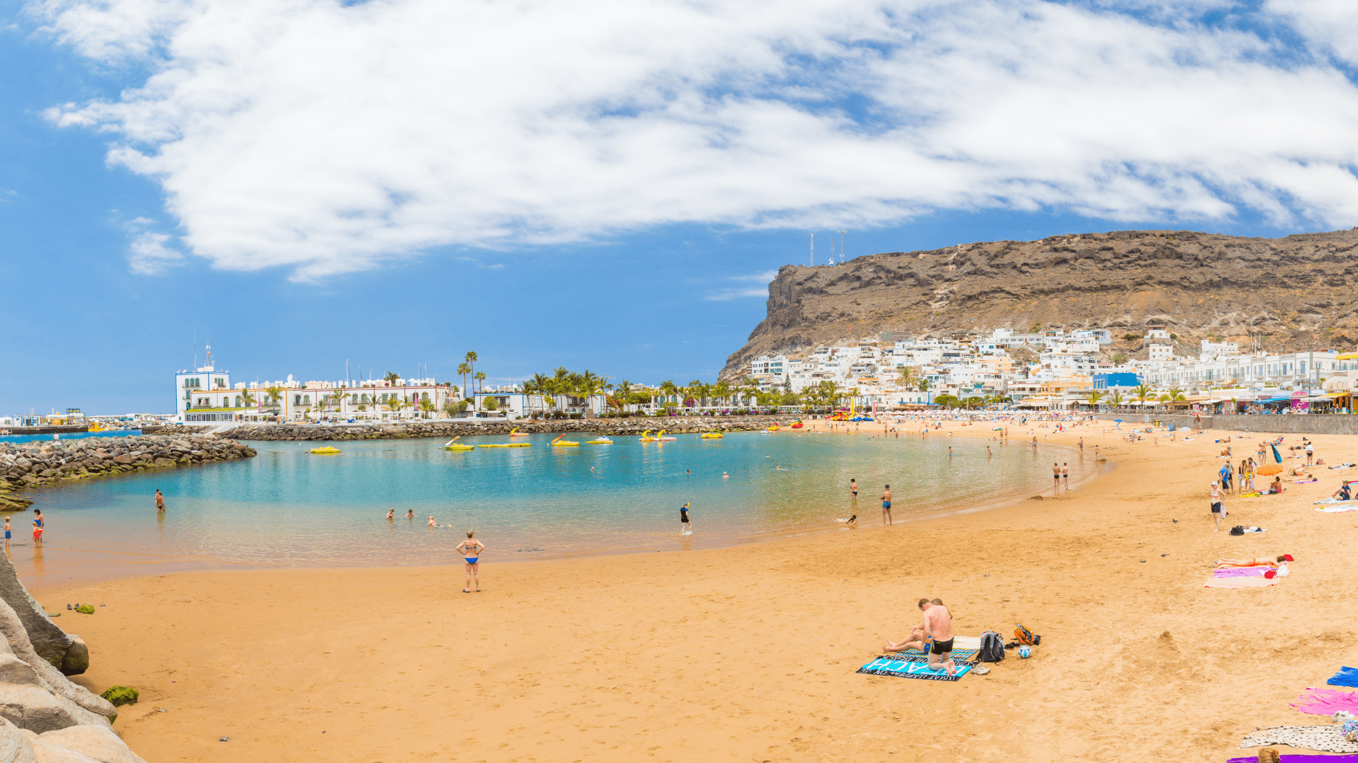 Gran Kanarijos smėlėti paplūdimiai