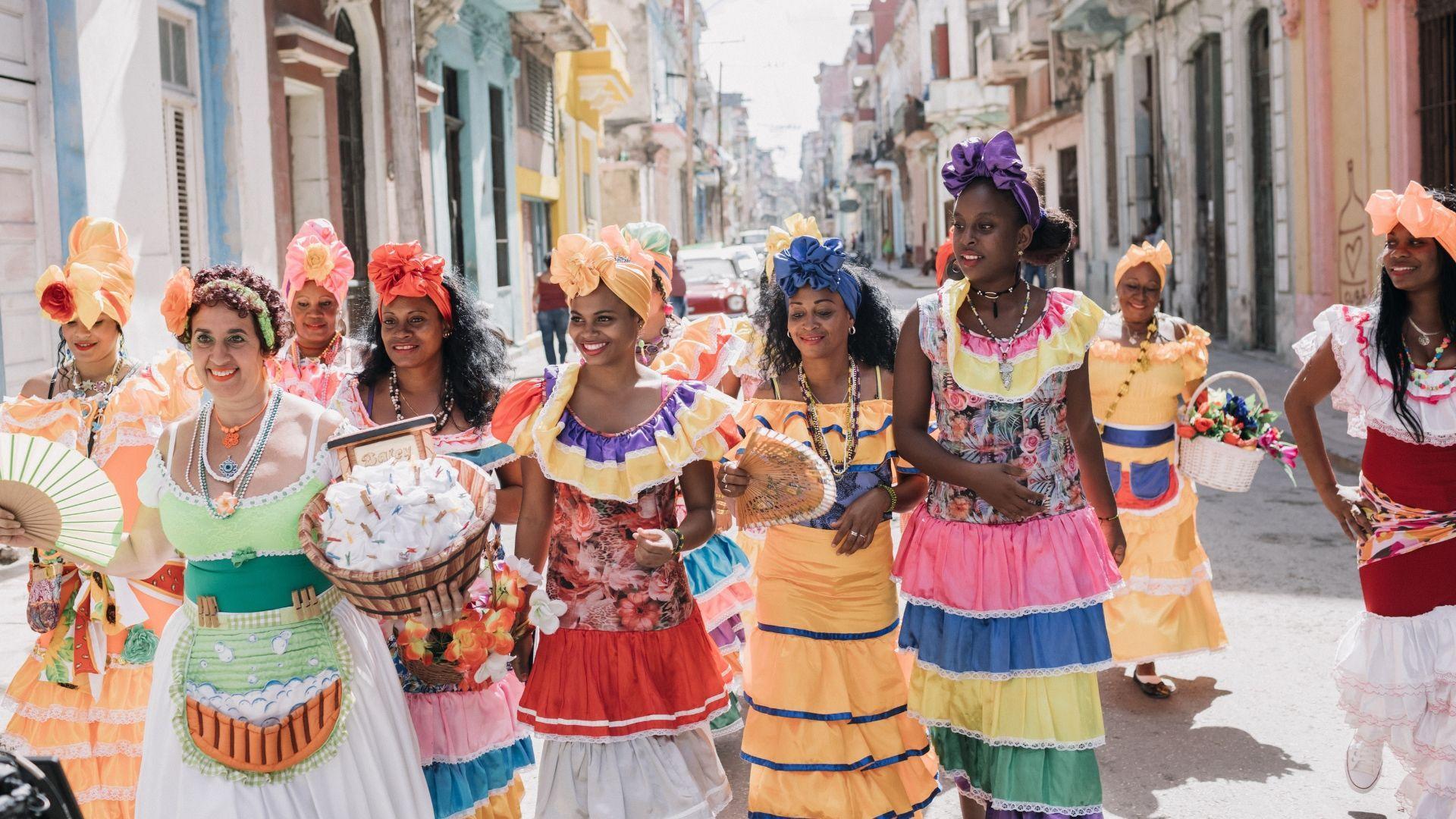 Havanos karnavalo linksmybės
