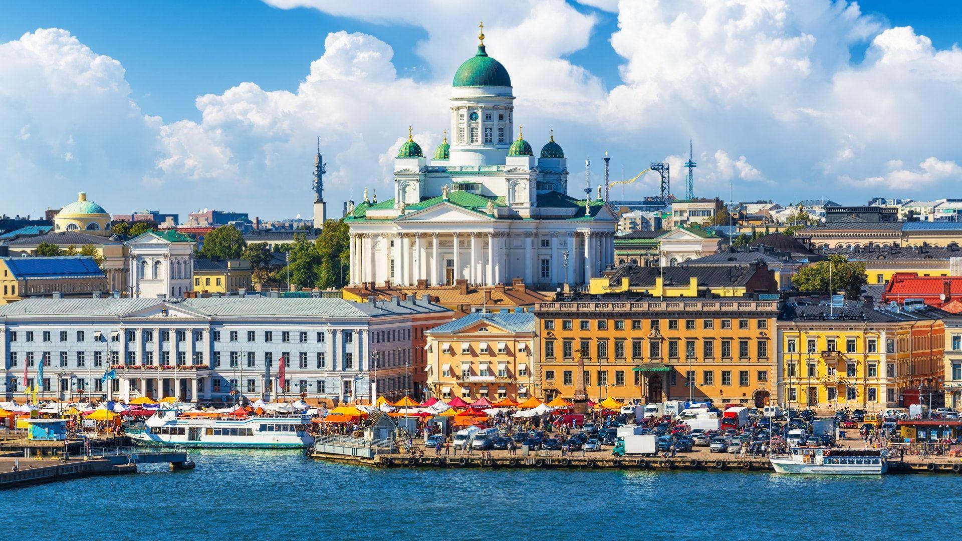 Užburianti Suomijos sostinė, Helsinkis