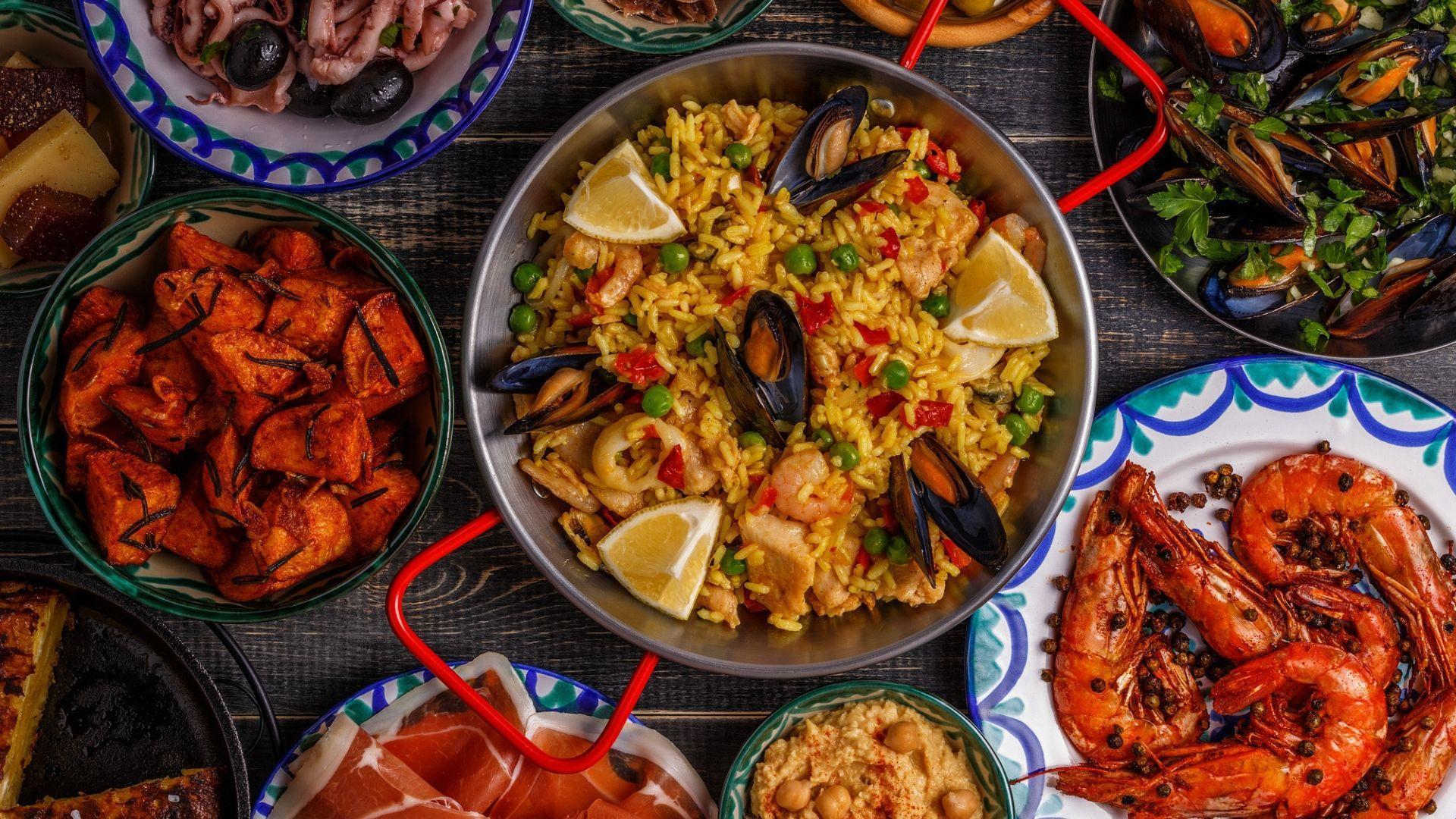 Ispaniškos virtuvės gėrybės