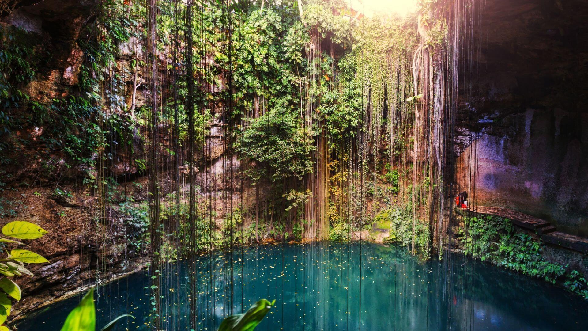 Įspūdingas gamtos lobis - Ik Kil požeminis ežeras