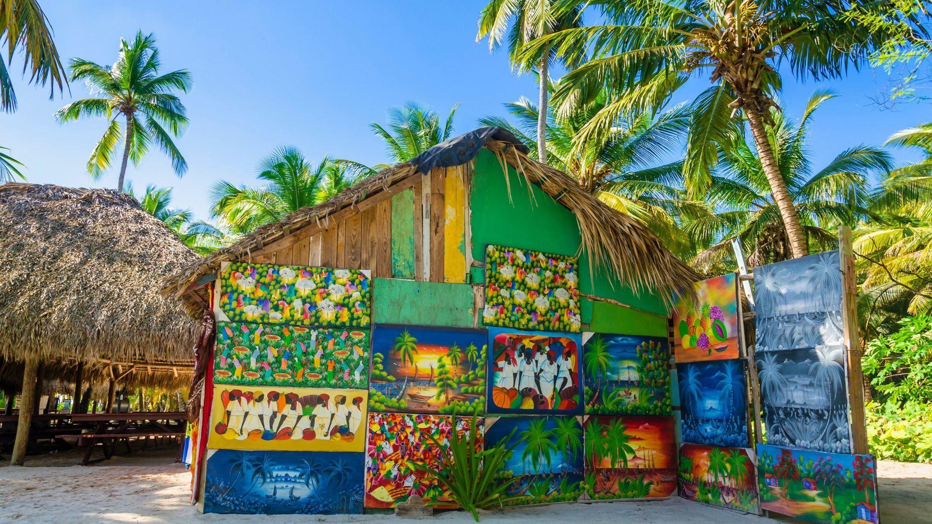 Įspūdingo grožio apylinkės Jamaikoje