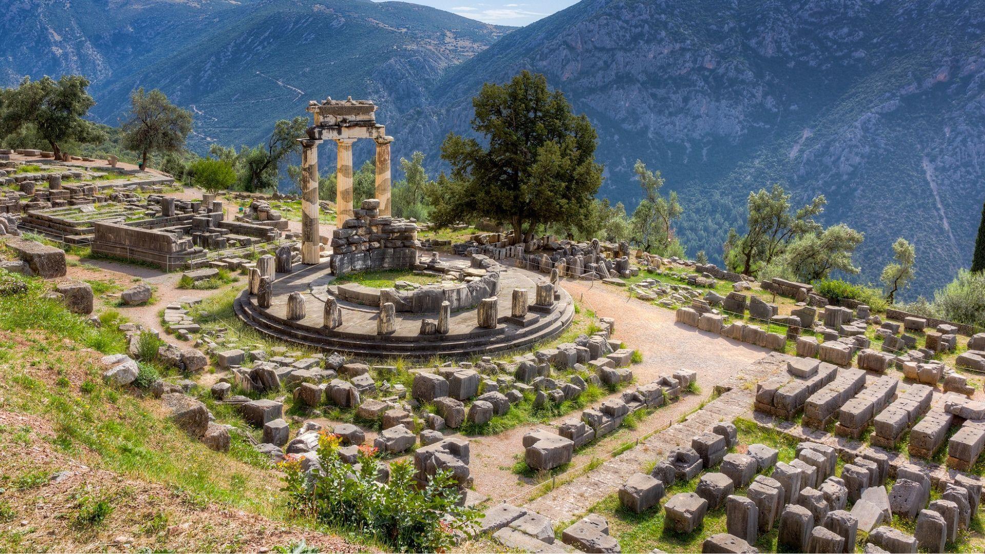 Istorinis paminklas, Athena Pronaia šventykla