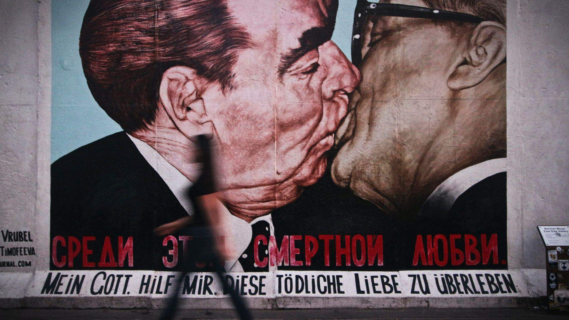 Istorinius įvykius Berlyne mena Berlyno sienos likučiai
