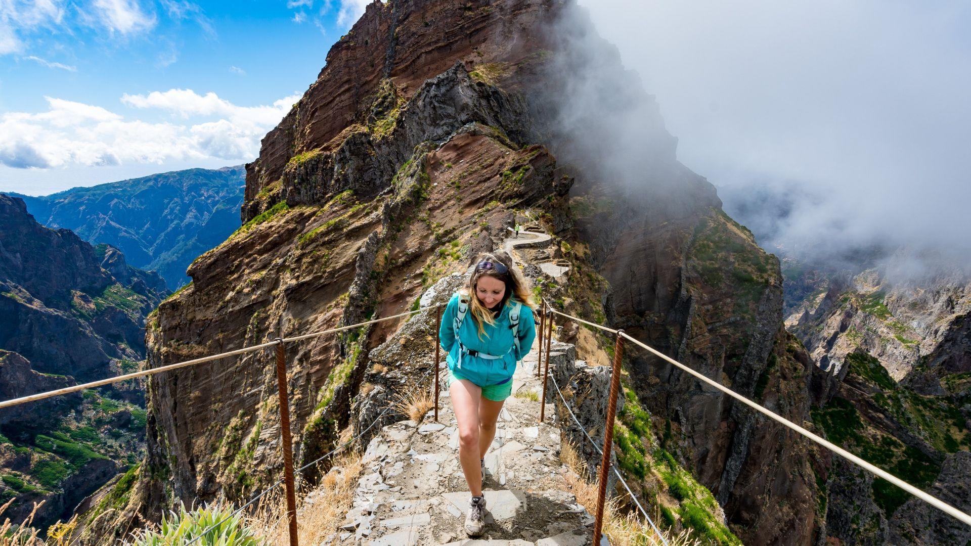 Jaudinantis žygis po Ariveiro ir Ruivo viršukalnes