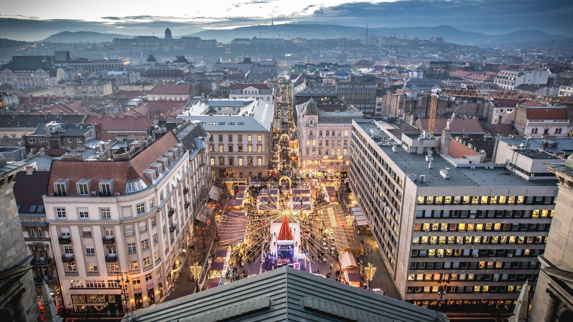 Kalėdoms pasiruošęs Budapeštas