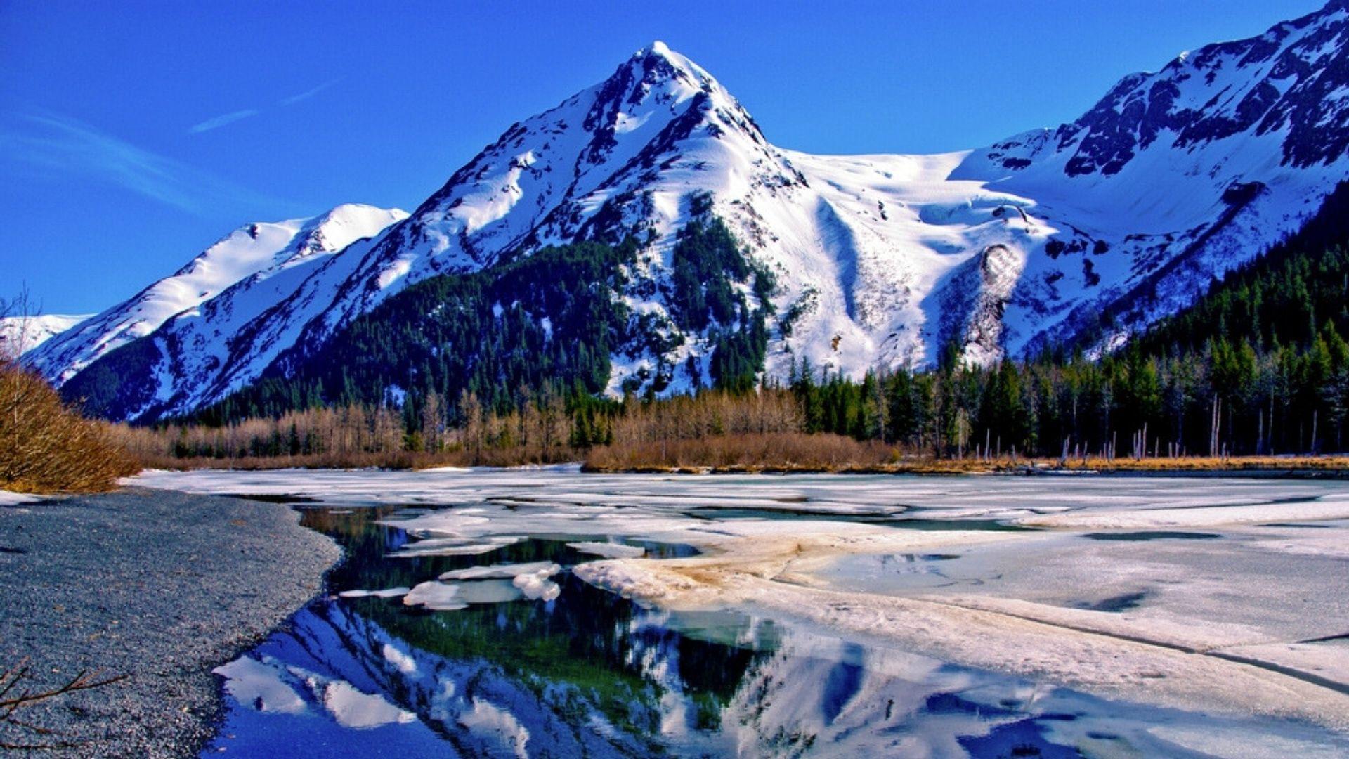Kvapą gniaužiantis Aliaskos kraštovaizdis