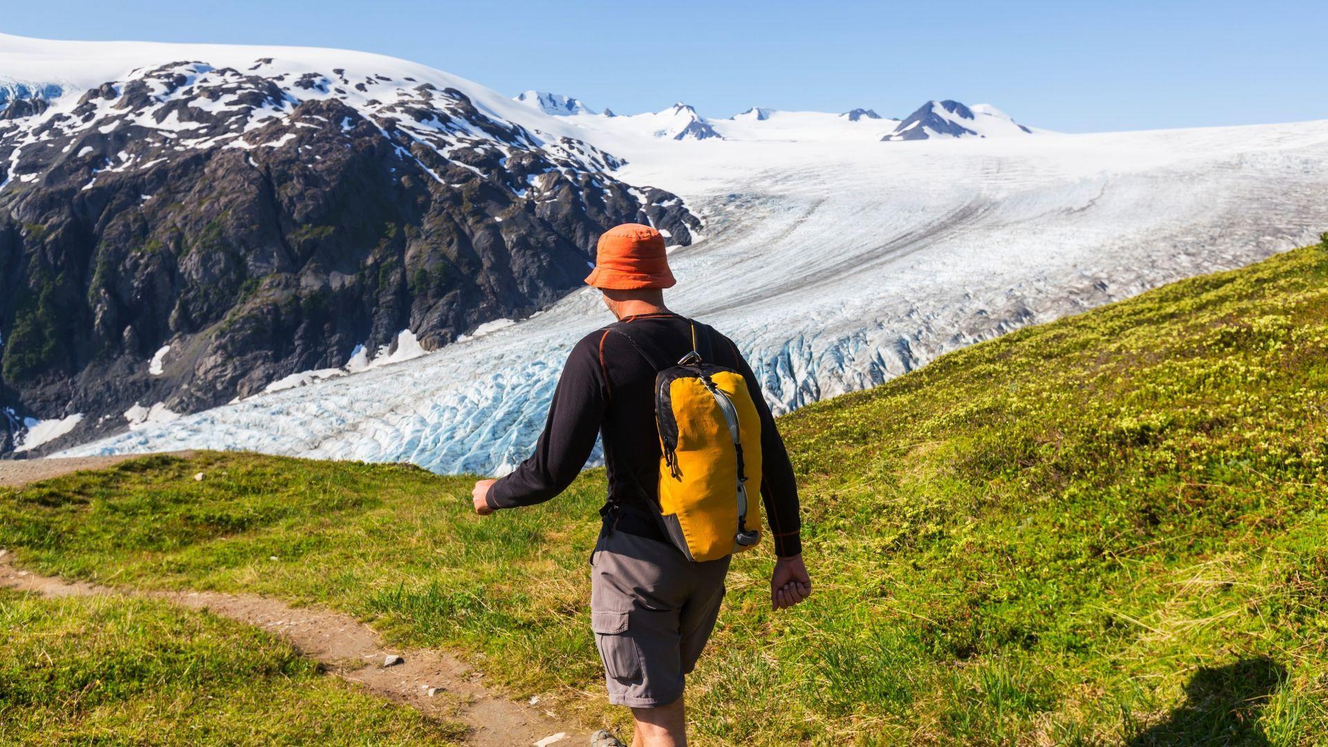 Kelionė pėsčiomis po Aliaskos apylinkes
