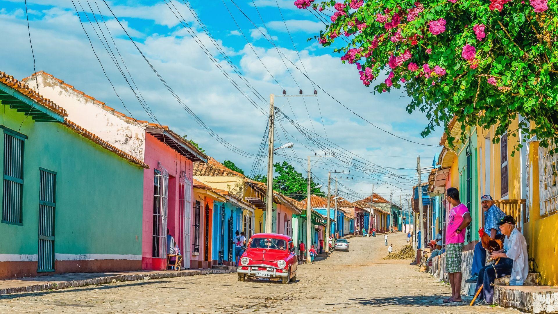 Keliautojus žavintis Trinidadas