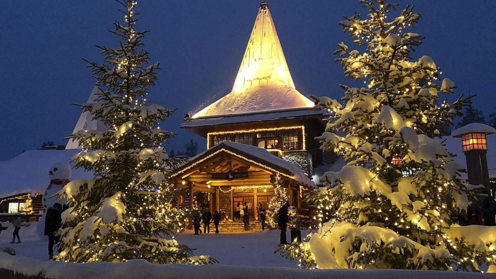 Kelionės į Laplandiją metu aplankykite Kalėdų Senelio miestelį