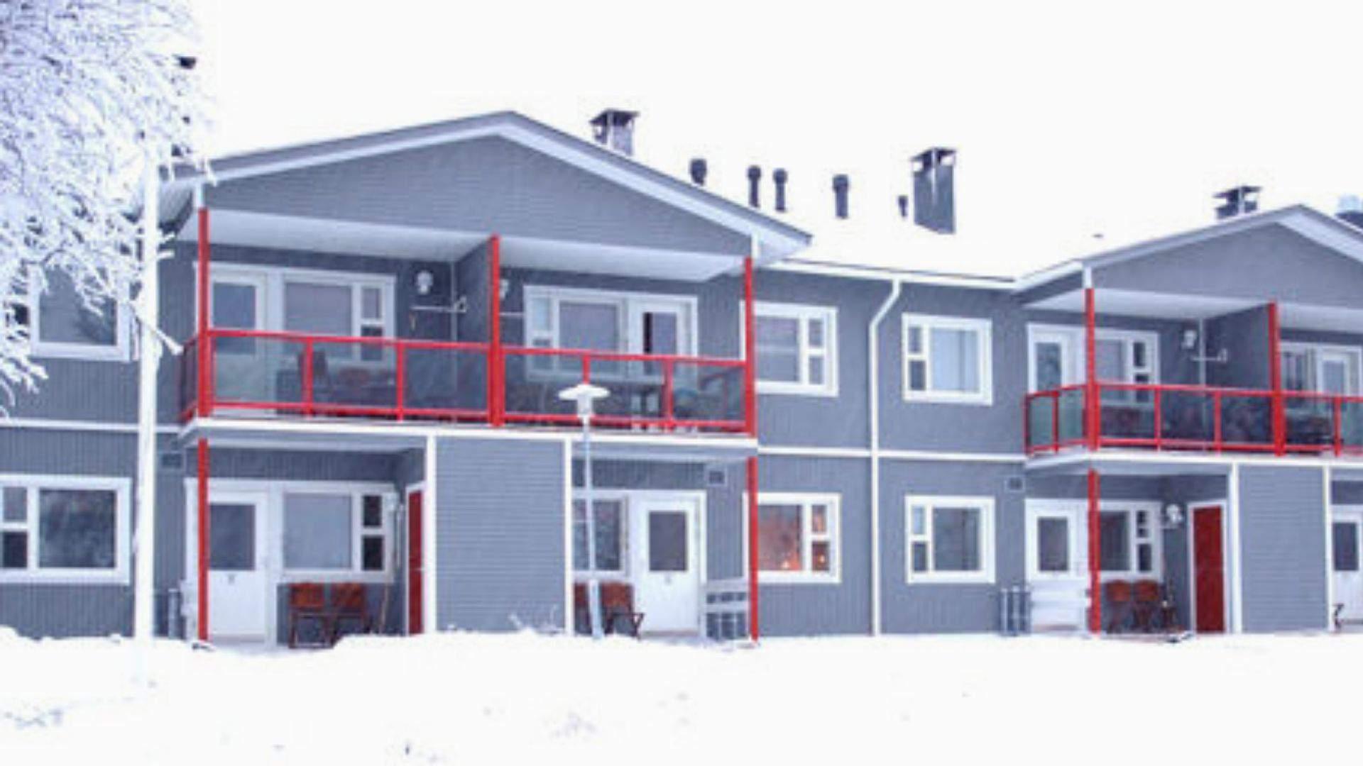 """Kelionės į Laplandiją metu apsistosite """"Kuukkeli"""" apartamentinio tipo viešbutyje"""