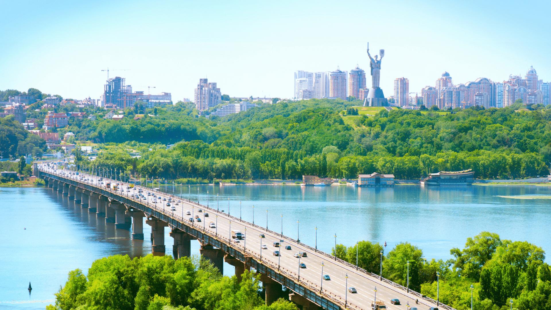 Kijevas iš paukščio skrydžio