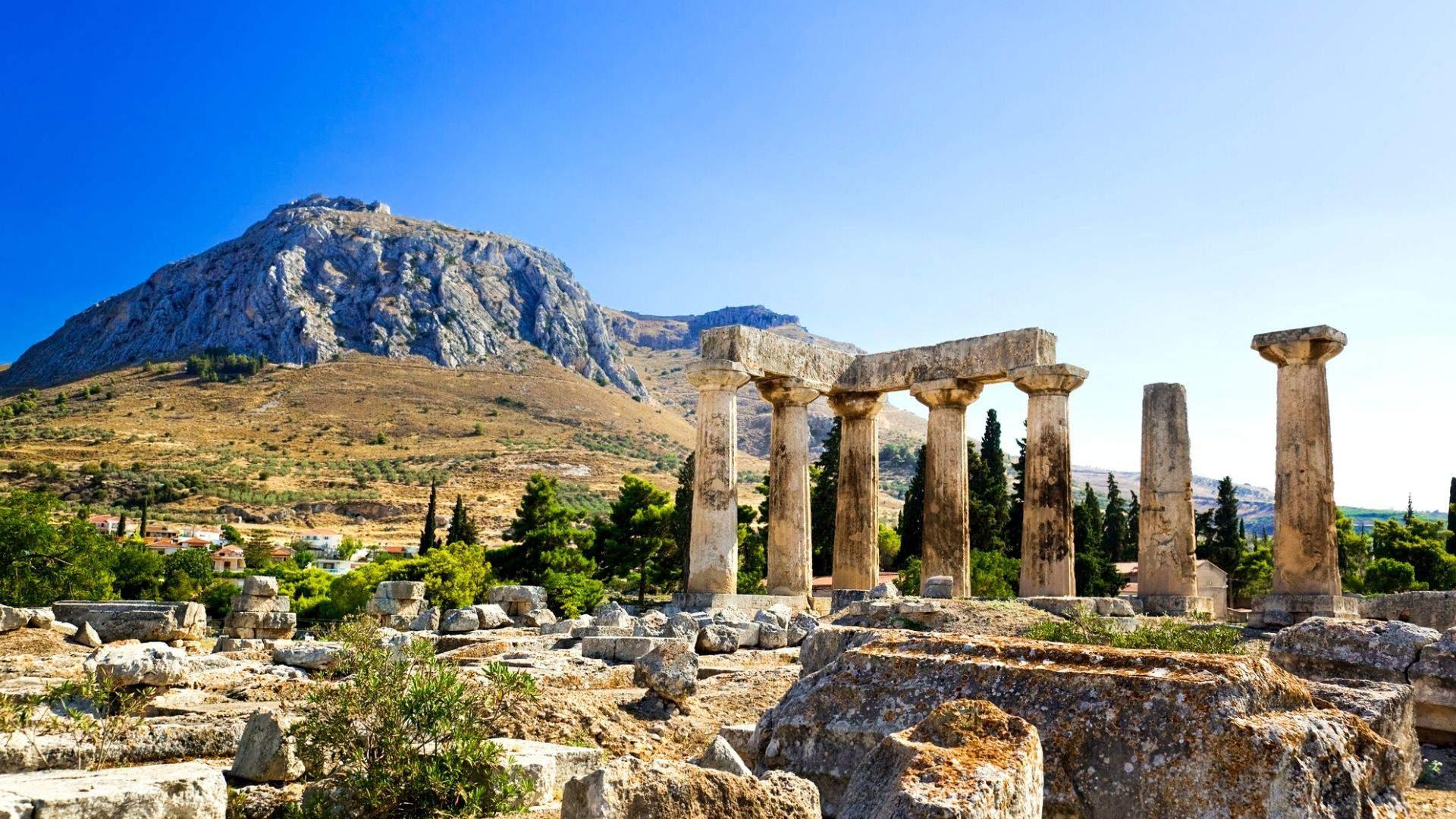 Korinte esančios šventyklos runos tikrai paliks įspūdį