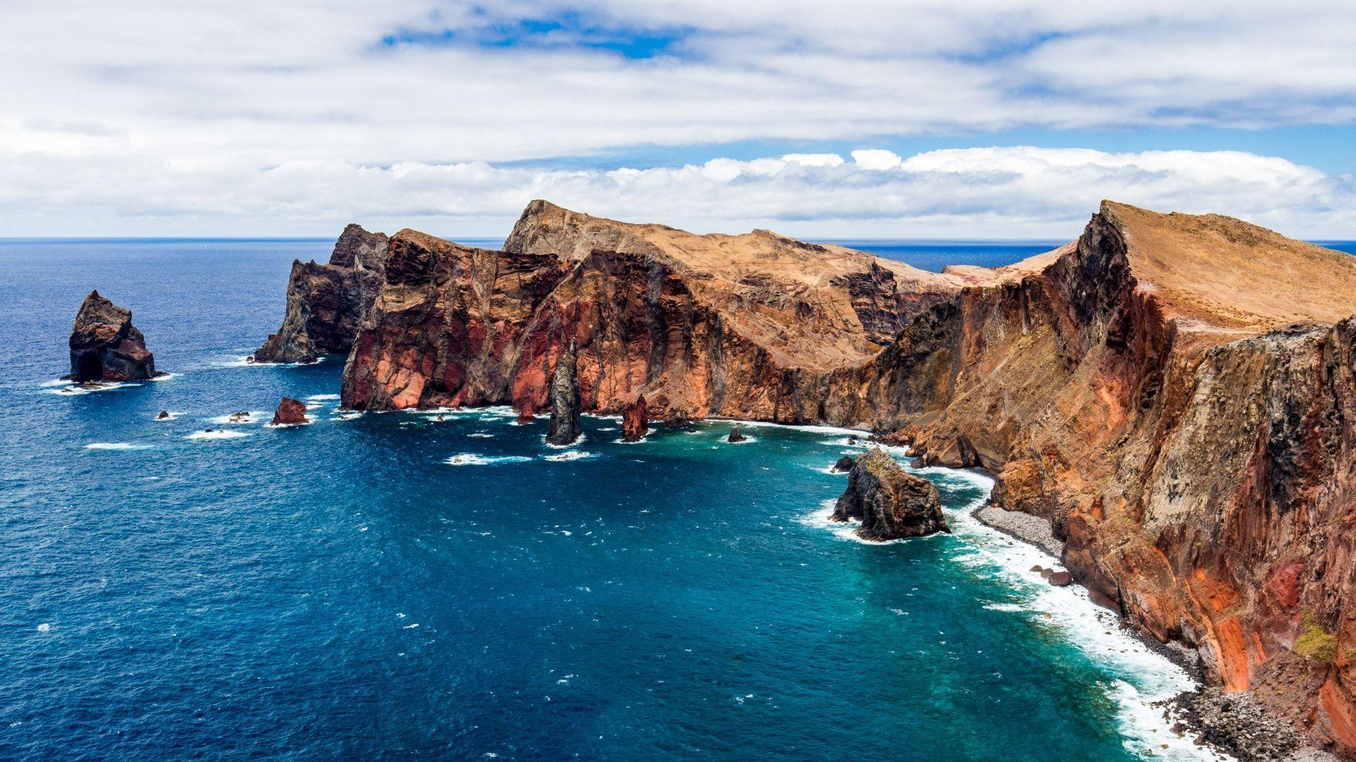 Kvapą gniaužiantis Madeiros kraštovaizdis