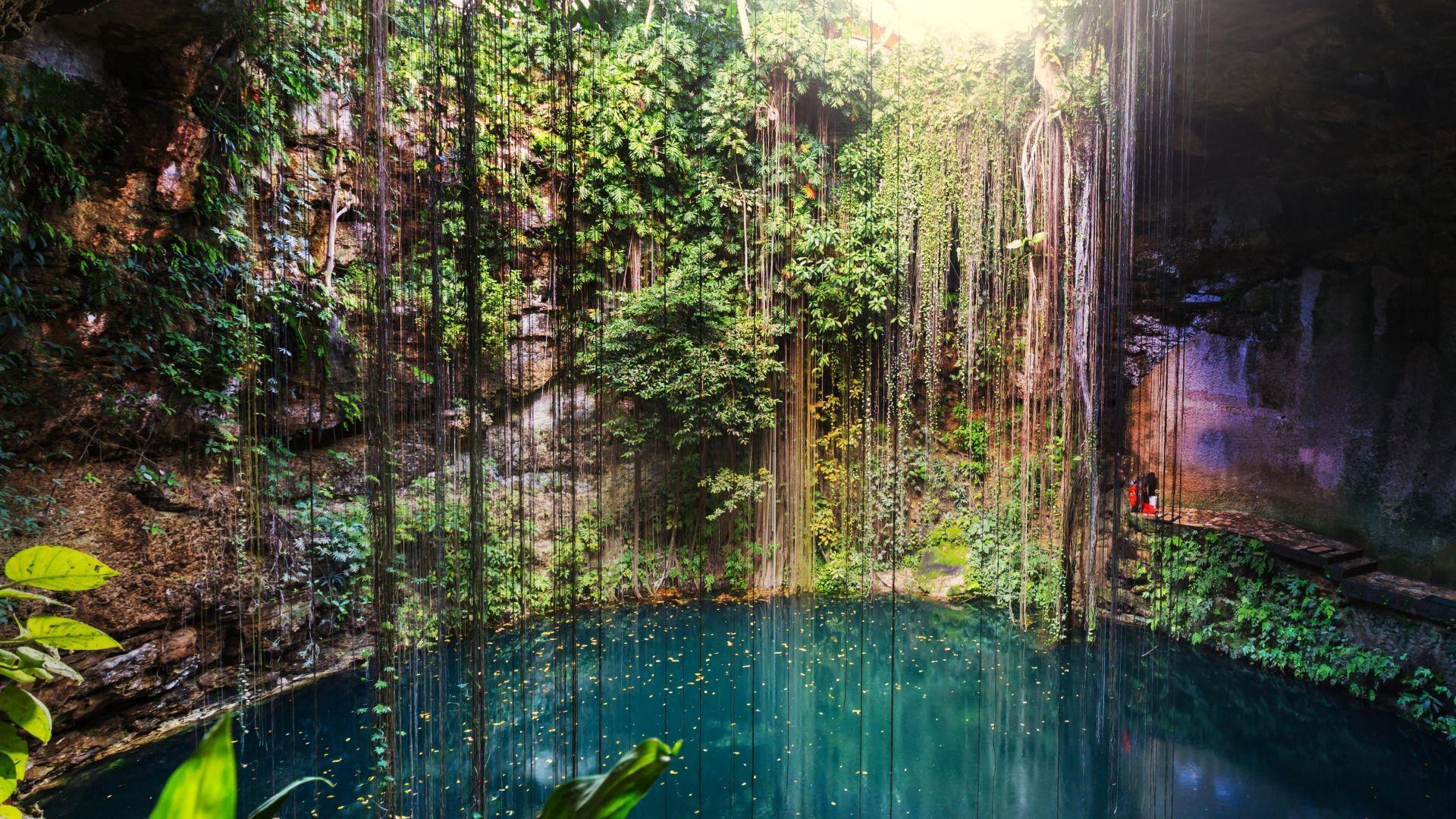 Meksika stebina savo įspūdingomis lagūnomis