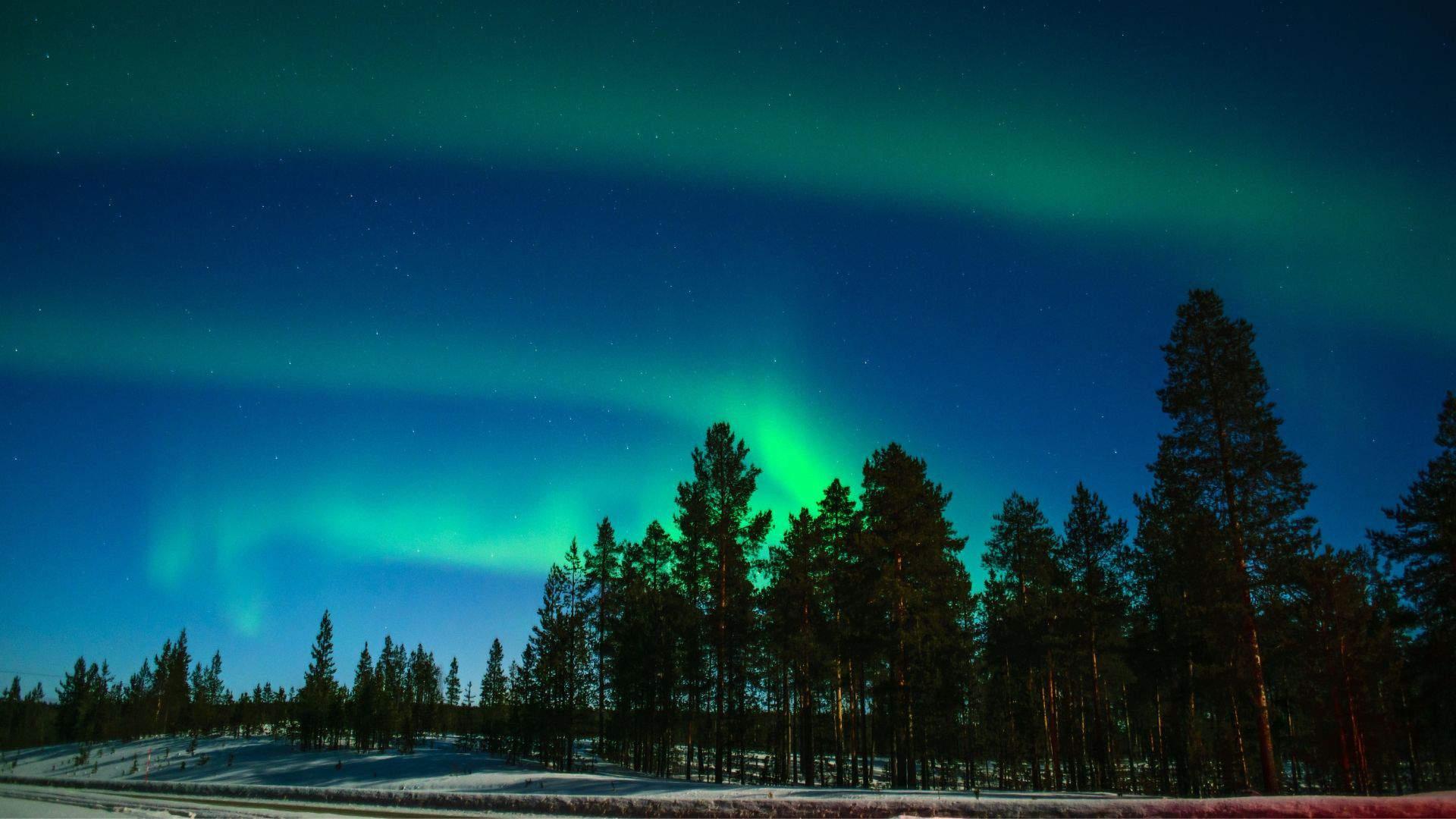 Laplandija - tai viena iš vietų, kur galima pamatyti įspūdingą gamtos reiškinį - Šiaurės Pašvaistę