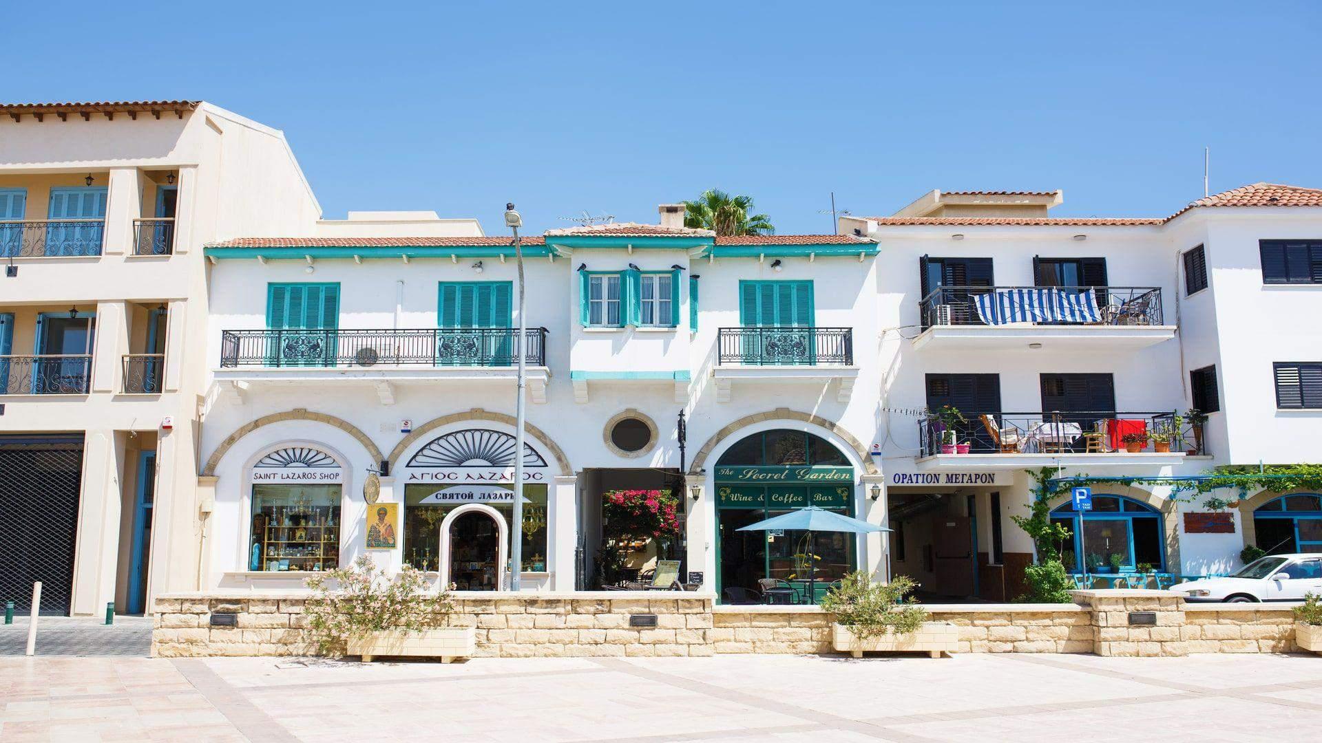 Larnakos centras – idealus jaukiems pasivaikščiojimams