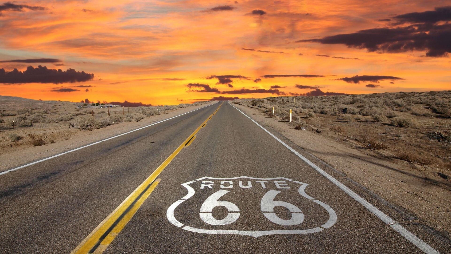 """Legendinis """"Route 66"""""""